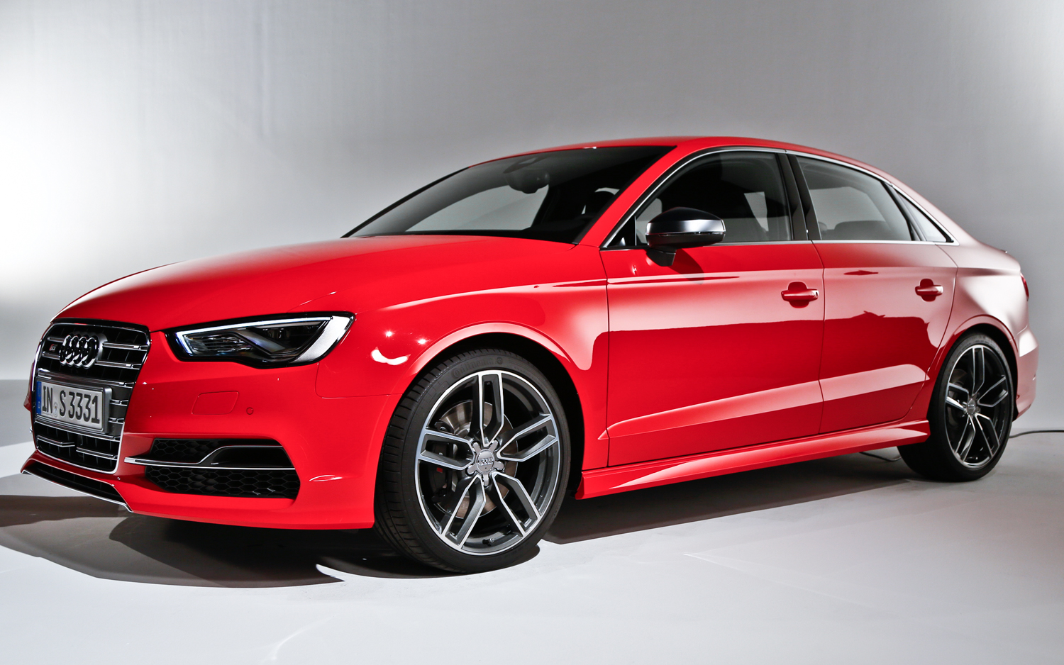 2015 Audi S3 Sedan Red (Photo 9 of 10)