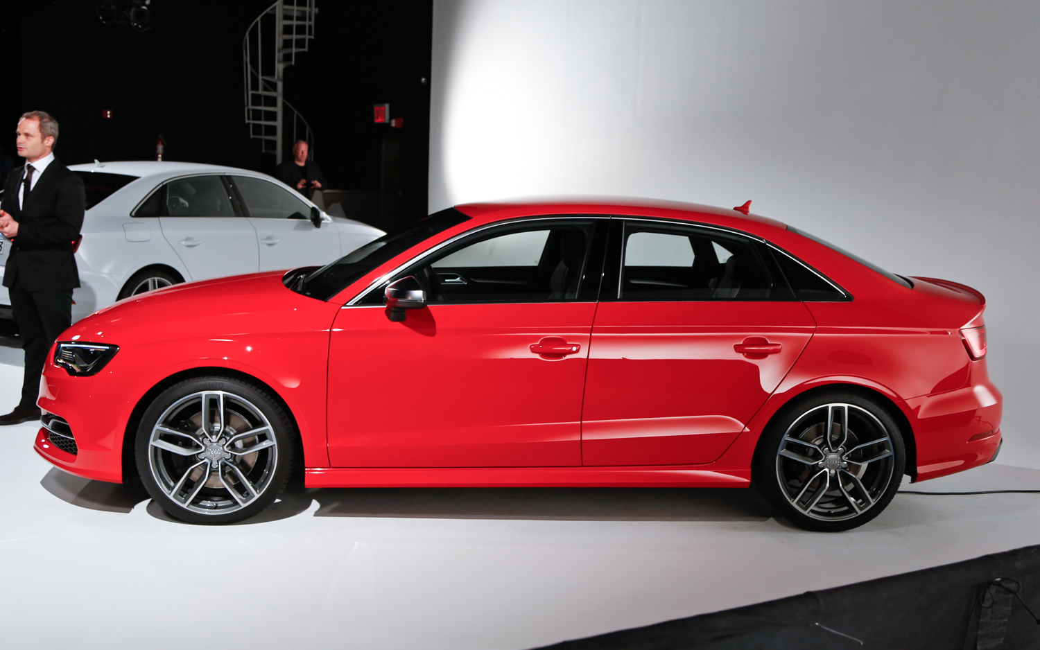 2015 Audi S3 Sedan Side View Auto Show (Photo 10 of 10)