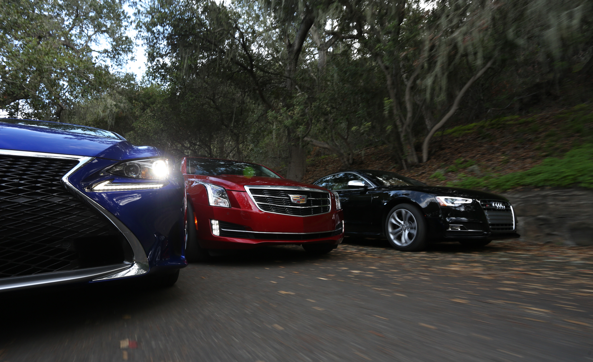 2015 Lexus RC350 F Sport, 2015 Cadillac ATS Coupe  (Photo 15 of 15)