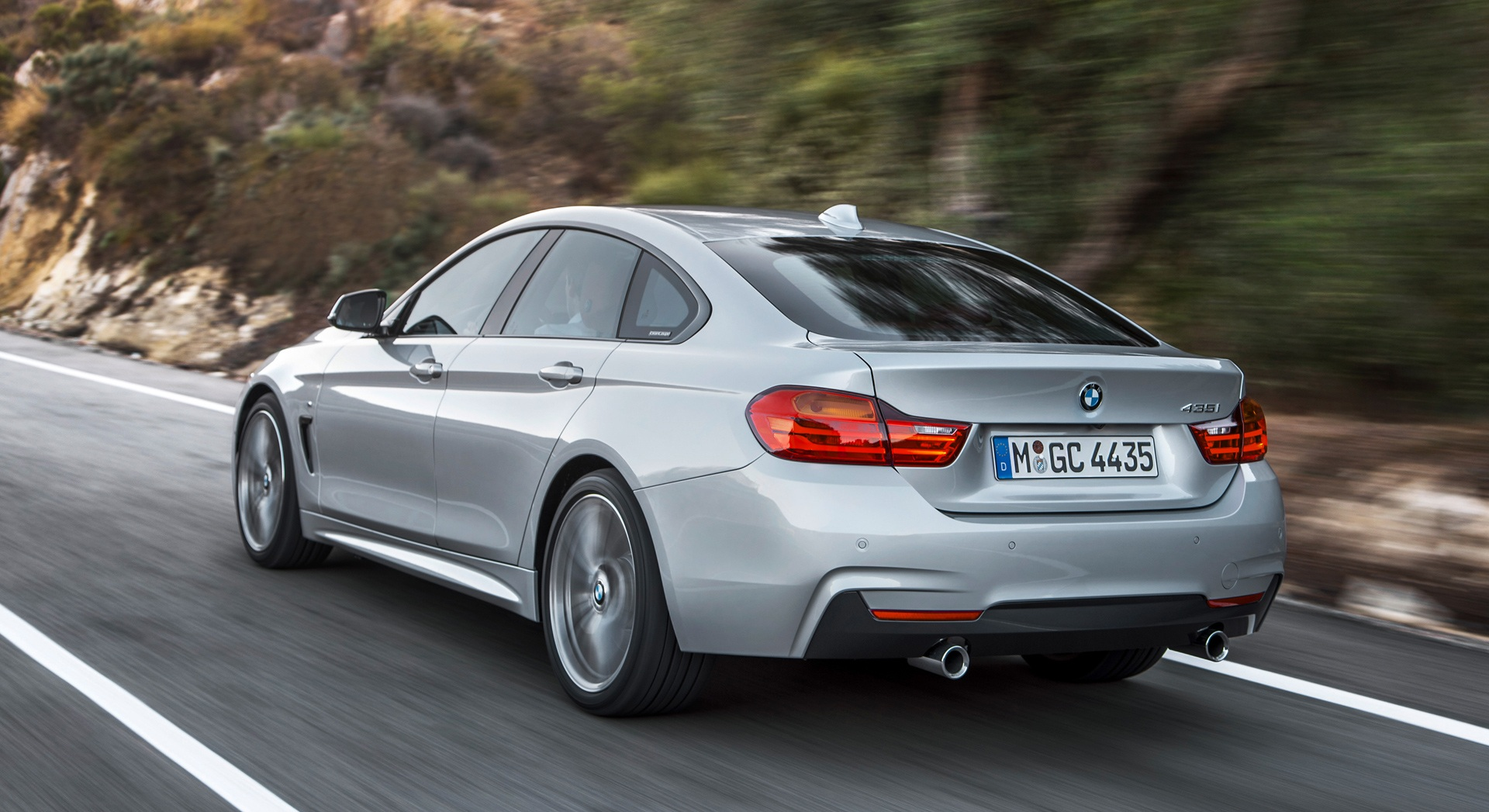 2015 Bmw 4 Series Gran Coupe Road View (View 11 of 11)