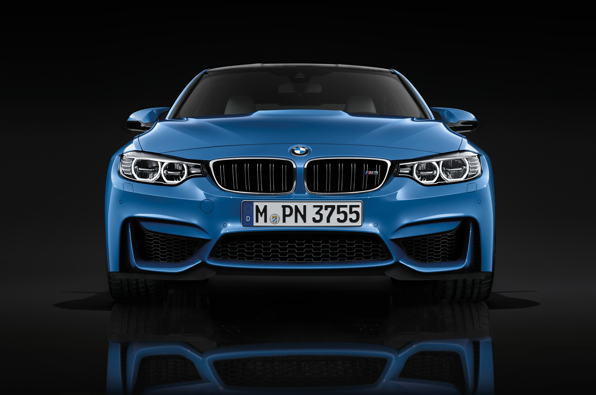 2015 Bmw M3 Blue Front View (Photo 42 of 55)