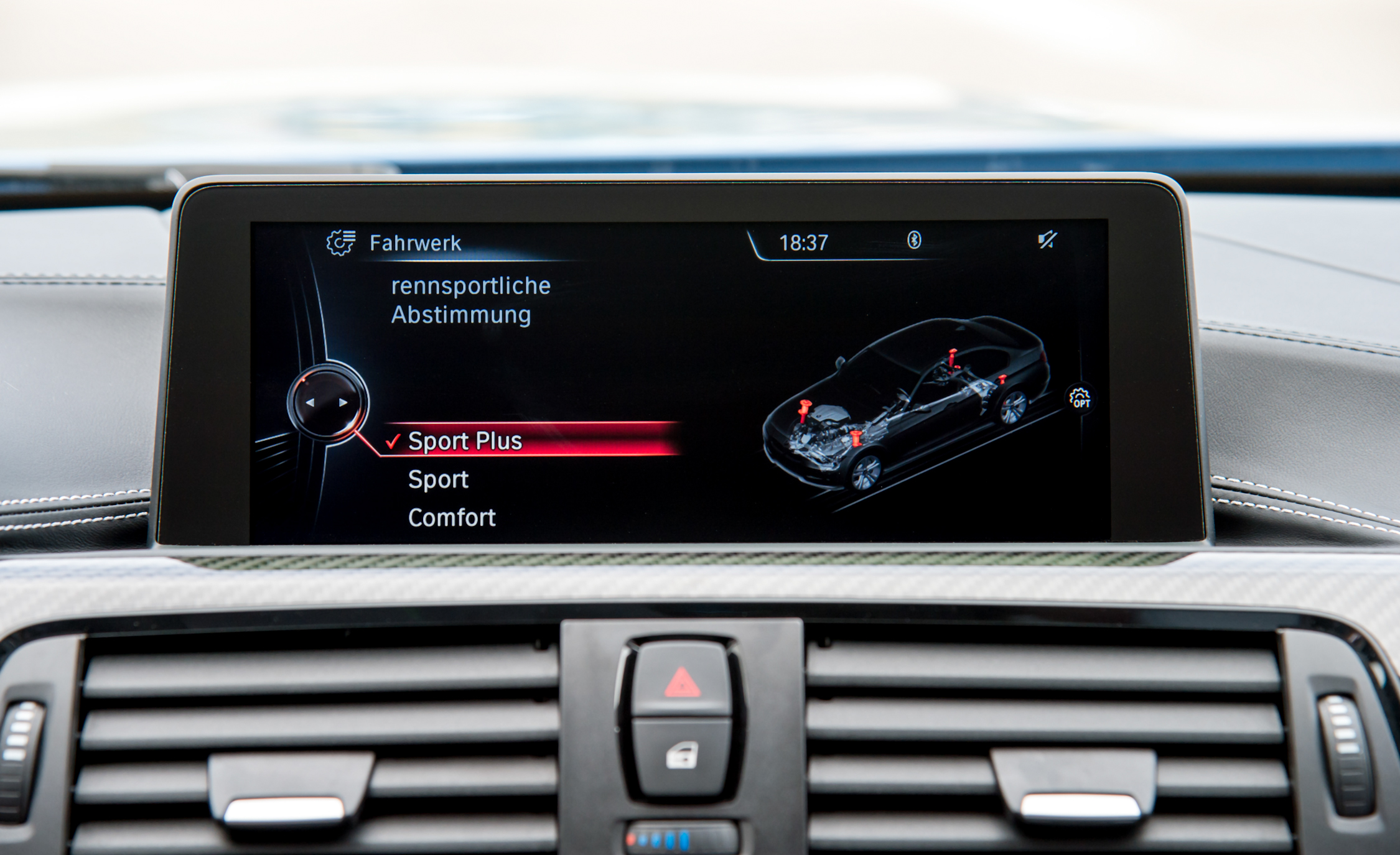 2015 BMW M3 Sedan Infotainment Display (Photo 28 of 55)