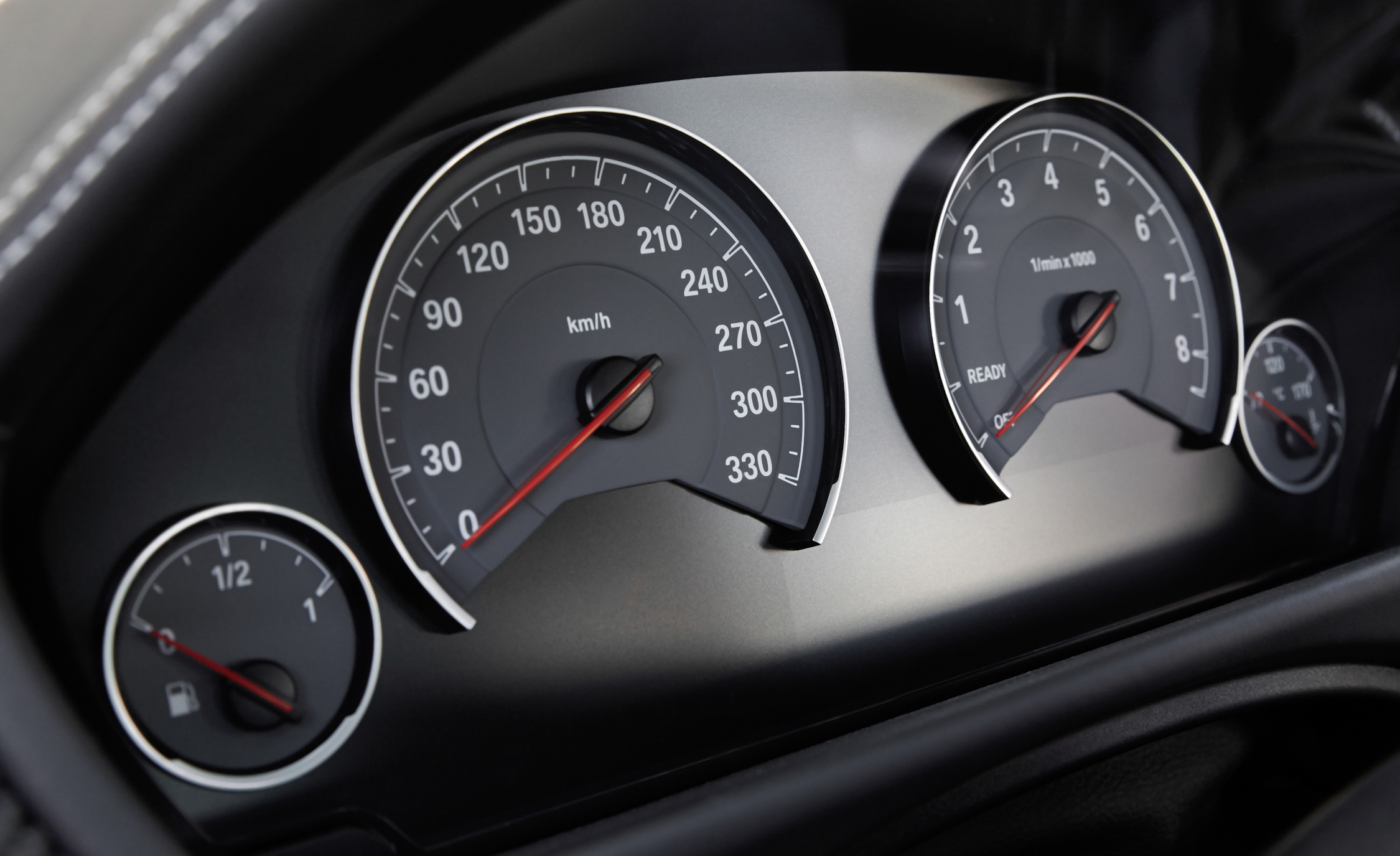 2015 BMW M3 Sedan Instrument Cluster (Photo 29 of 55)