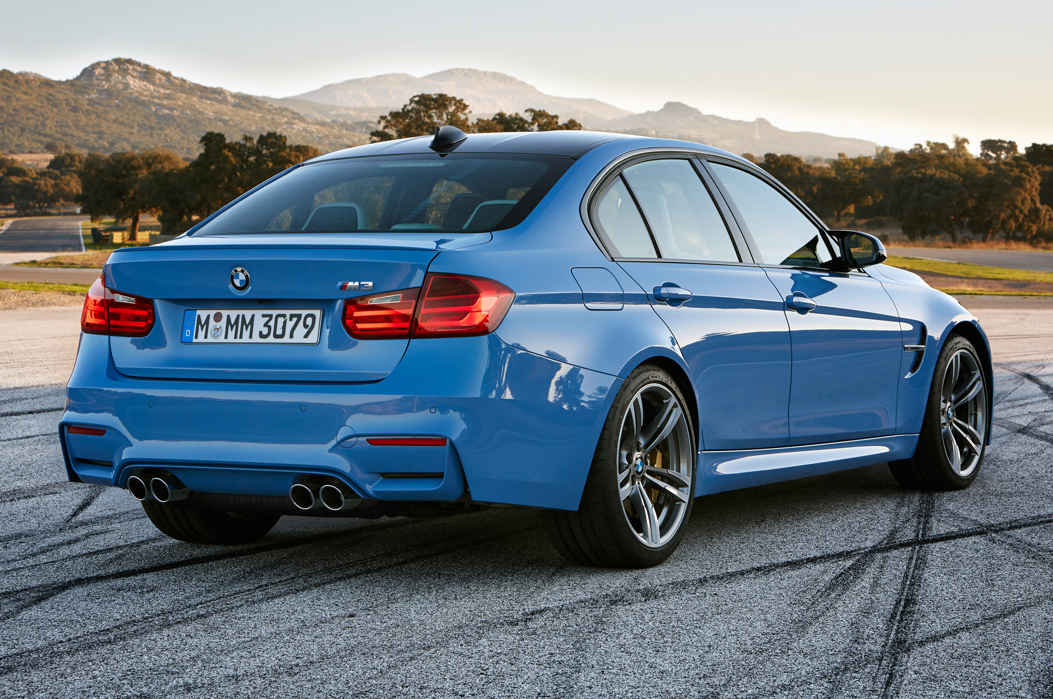 2015 Bmw M3 Rear Exterior (Photo 49 of 55)