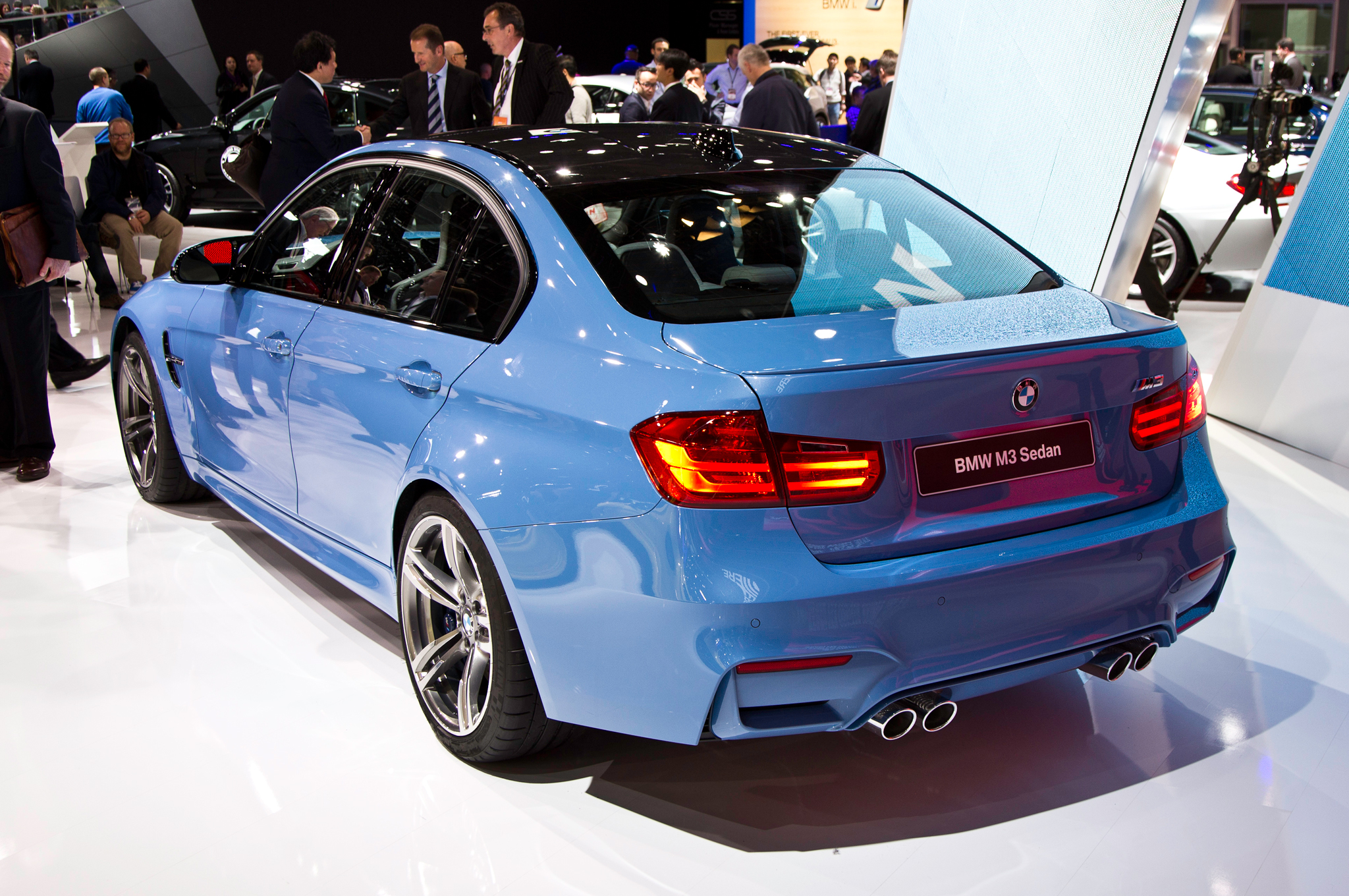 2015 Bmw M3 Rear Side View (Photo 51 of 55)