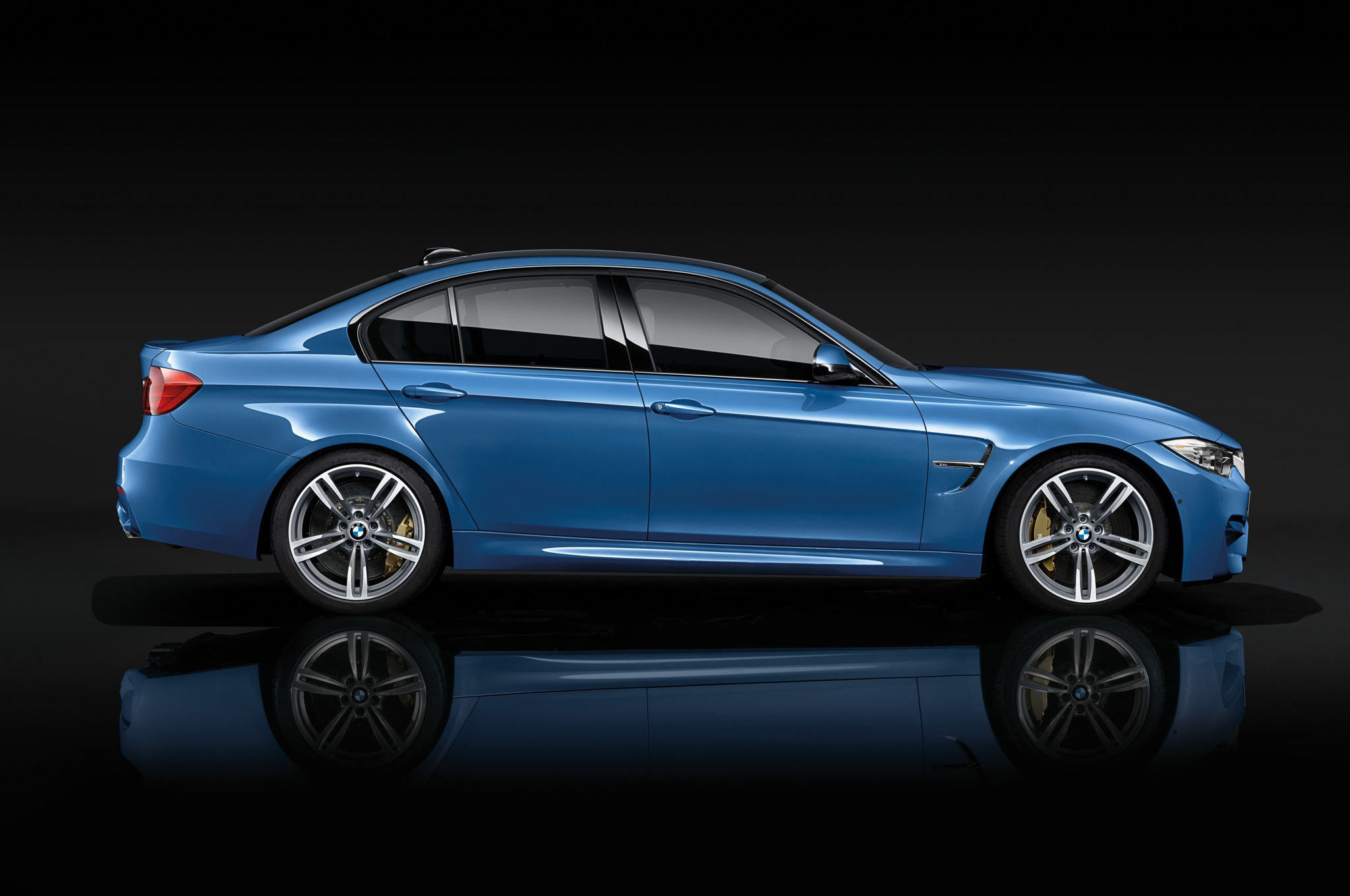 2015 Bmw M3 Side View (Photo 54 of 55)