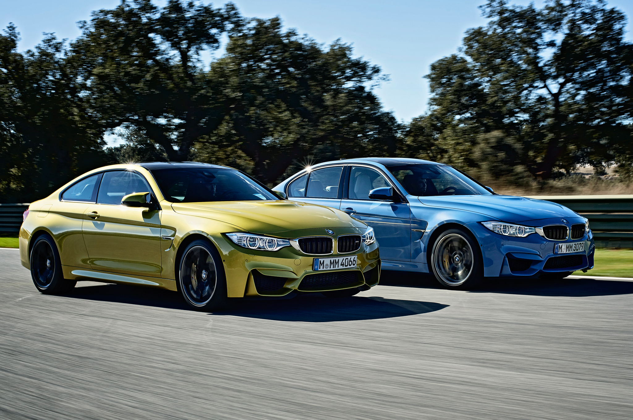 2015 Bmw M3 And Bmw M4 On Road (Photo 41 of 55)
