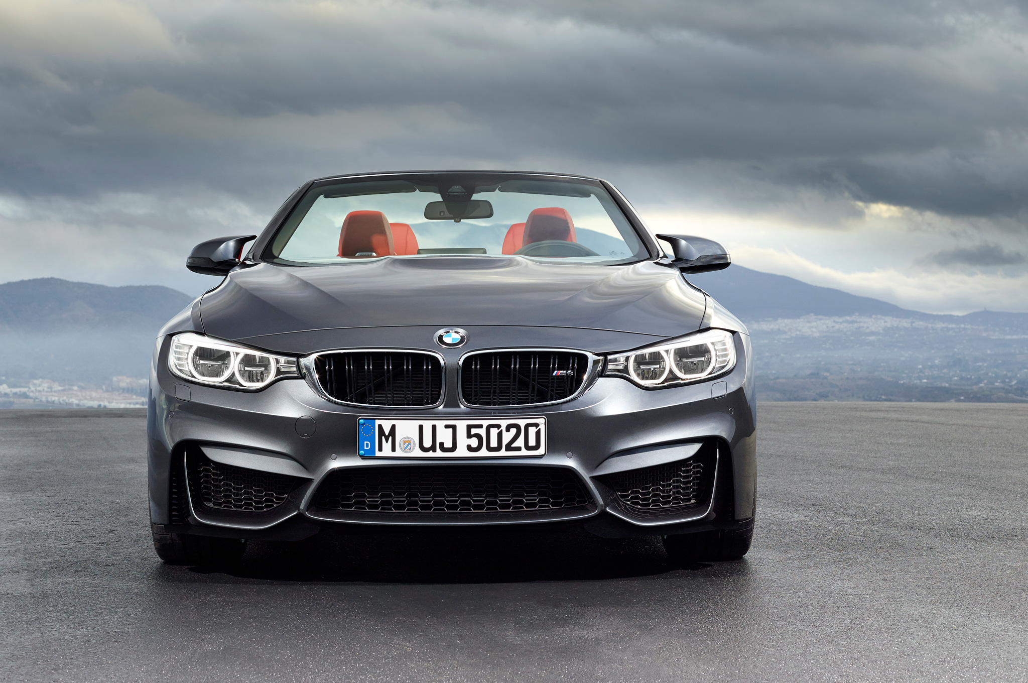 2015 Bmw M4 Convertible Concept Front End (View 7 of 50)