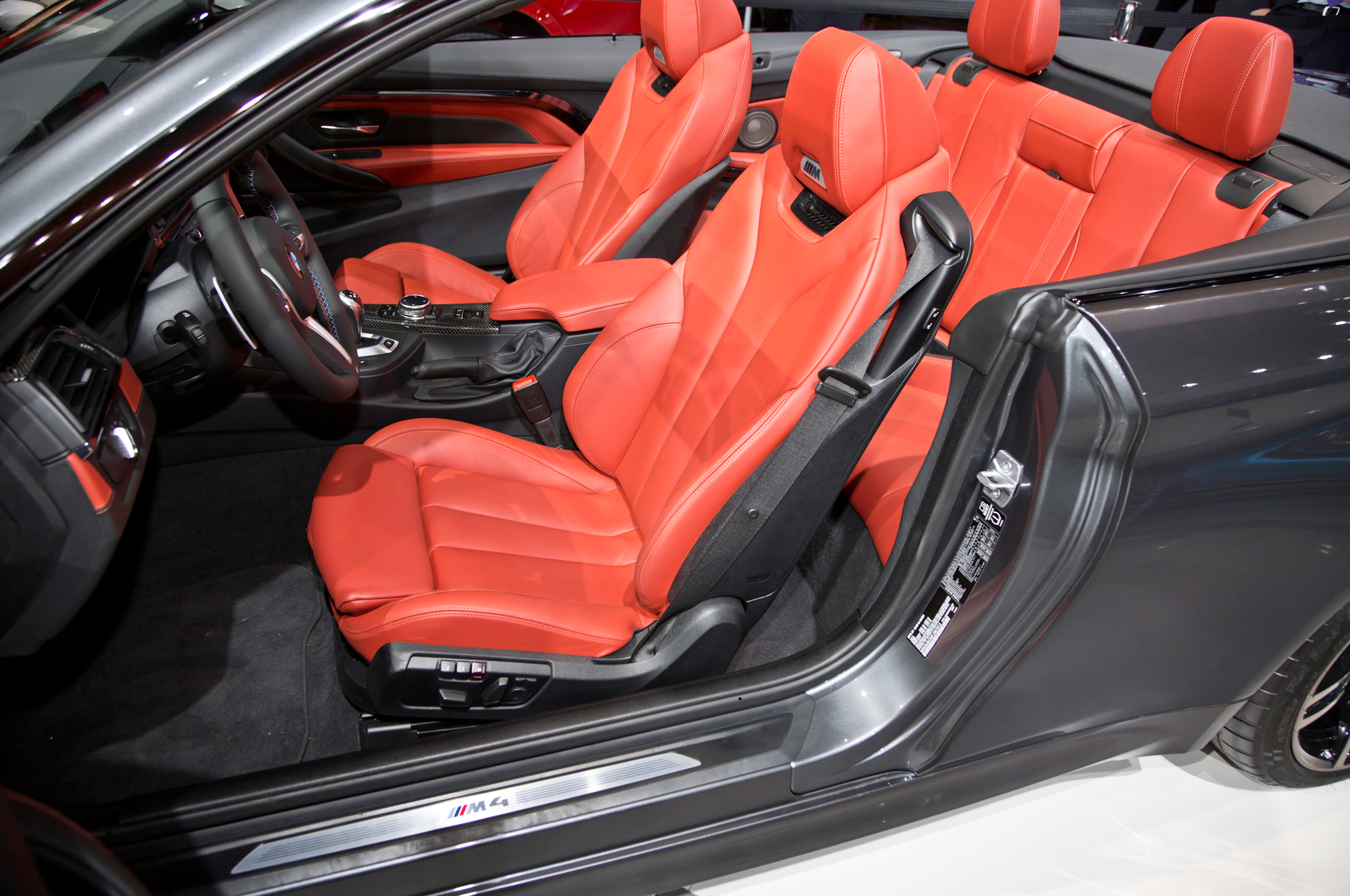 2015 Bmw M4 Convertible Interior Seats  (Photo 38 of 50)