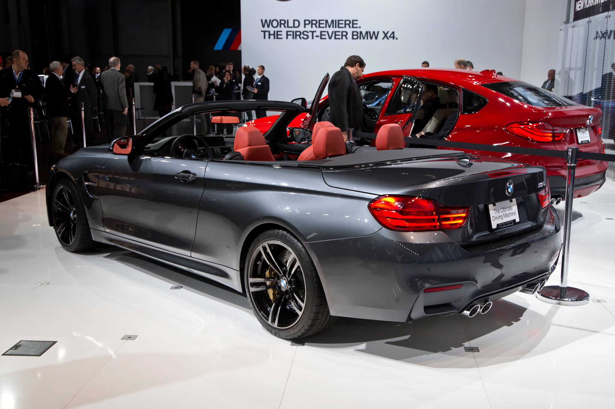 2015 Bmw M4 Convertible Rear Side Auto Show (View 13 of 50)