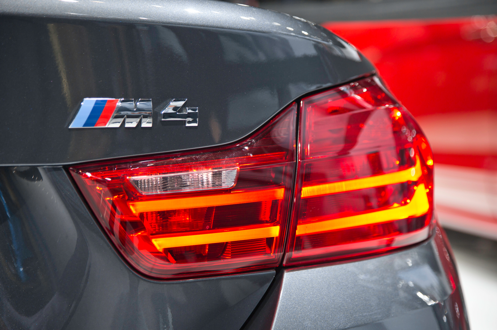 2015 Bmw M4 Convertible Rear Taillight (Photo 41 of 50)
