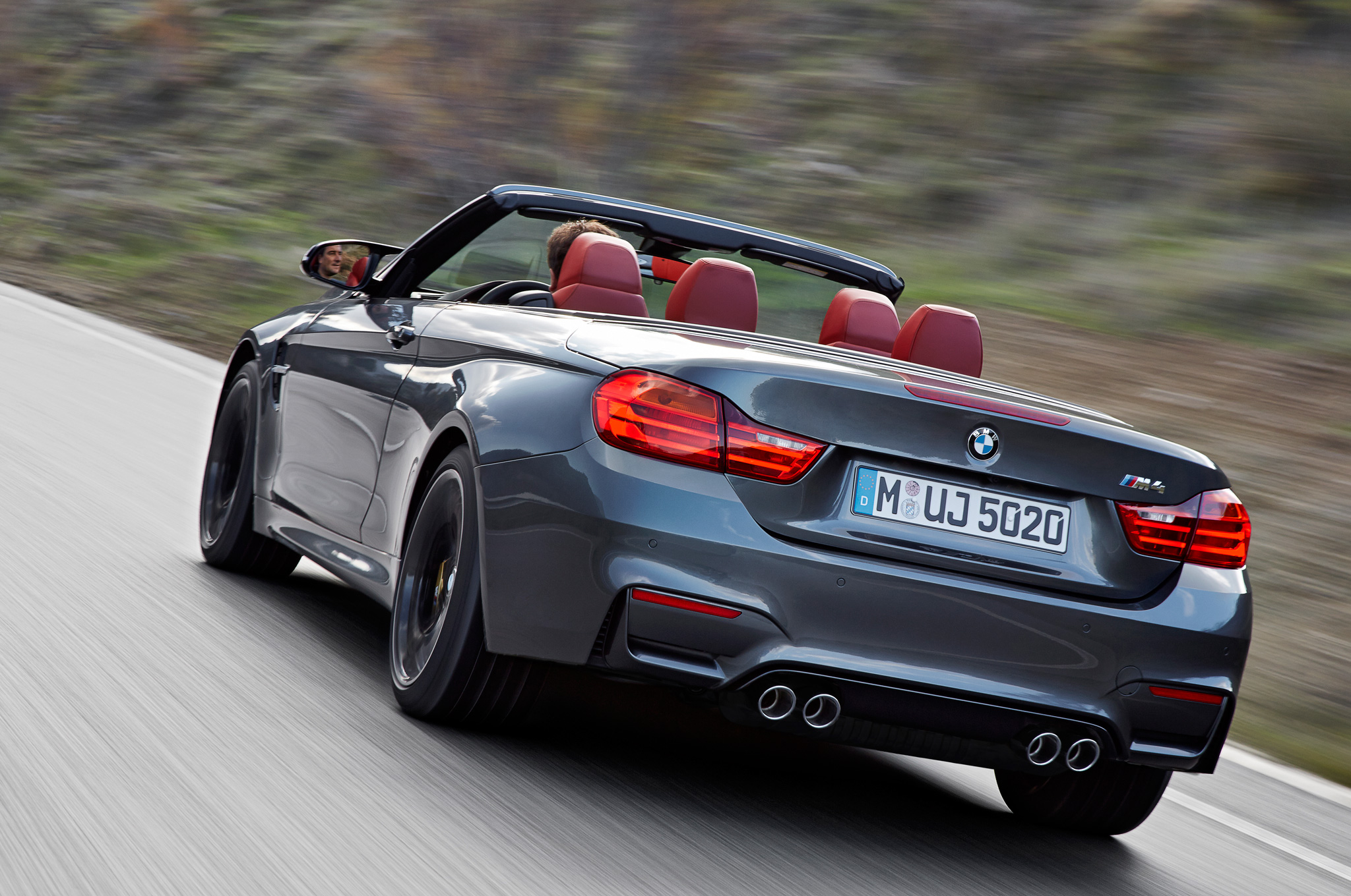 2015 Bmw M4 Convertible Rear View (Photo 42 of 50)