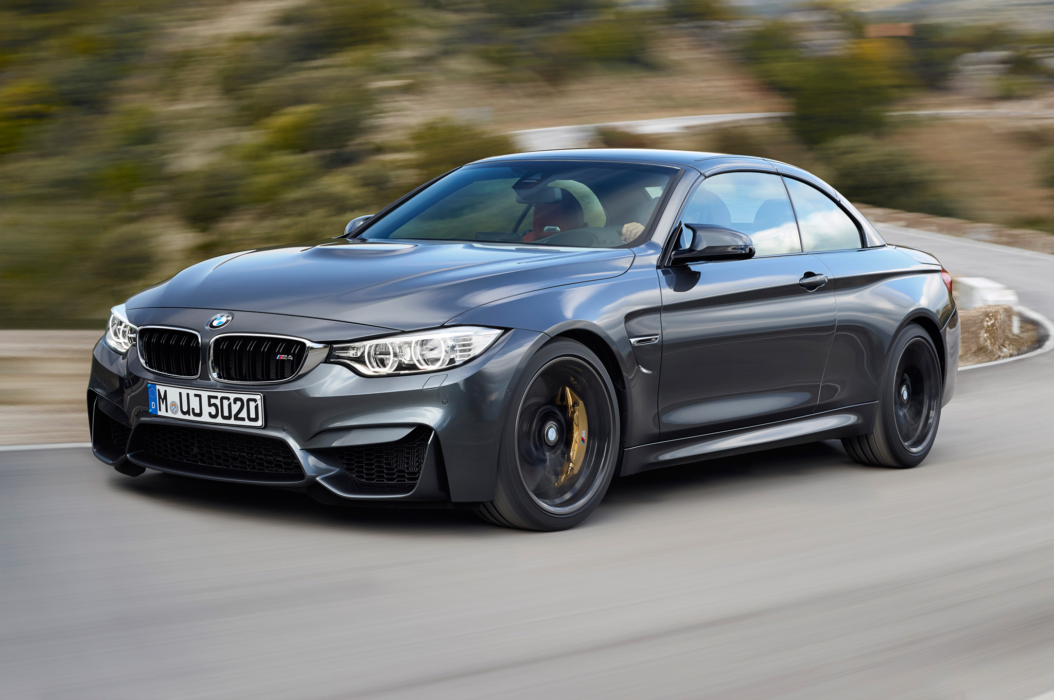 2015 Bmw M4 Convertible Road Performance (Photo 22 of 50)