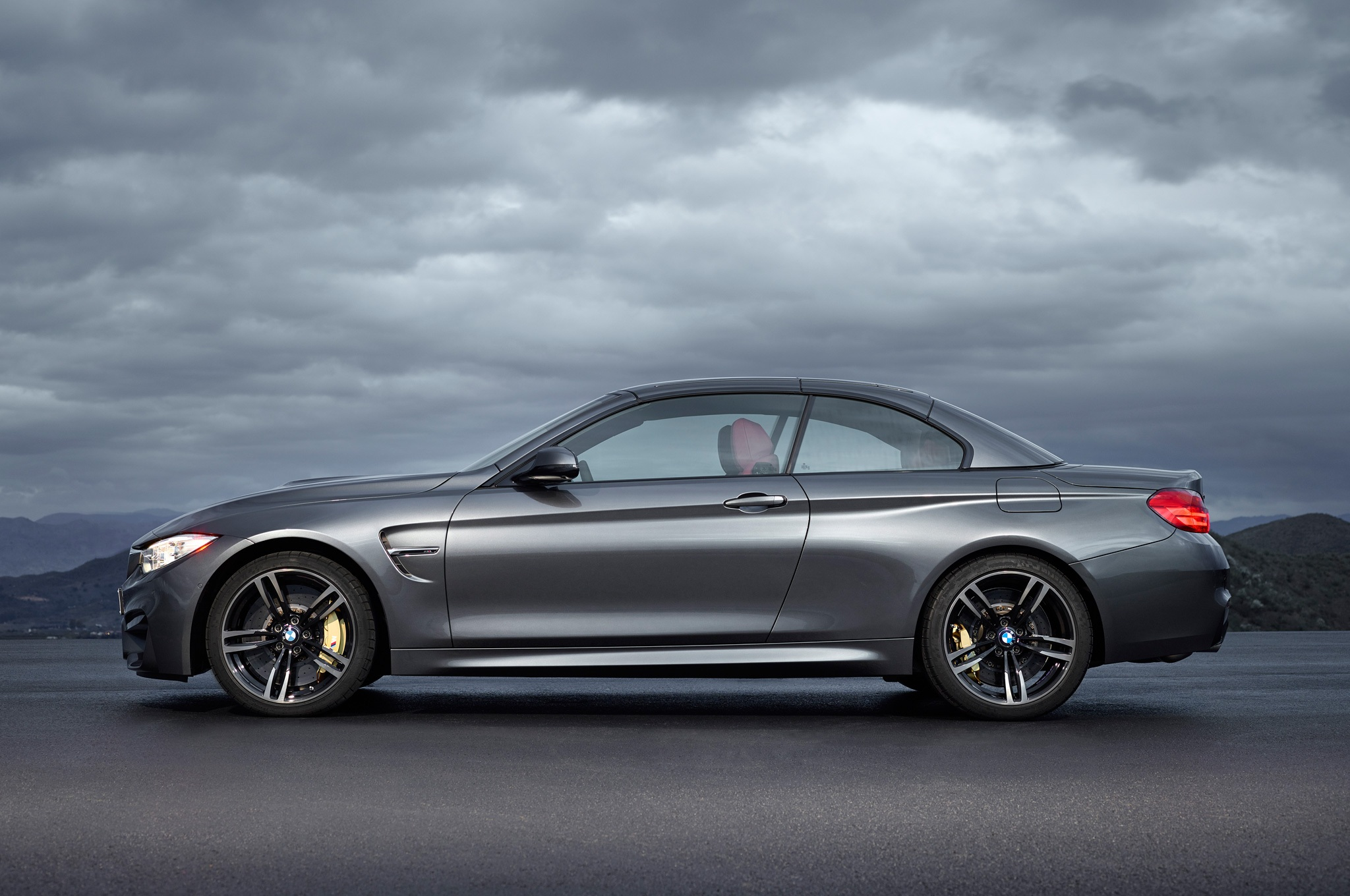 2015 Bmw M4 Convertible Side Design Top Up (View 2 of 50)