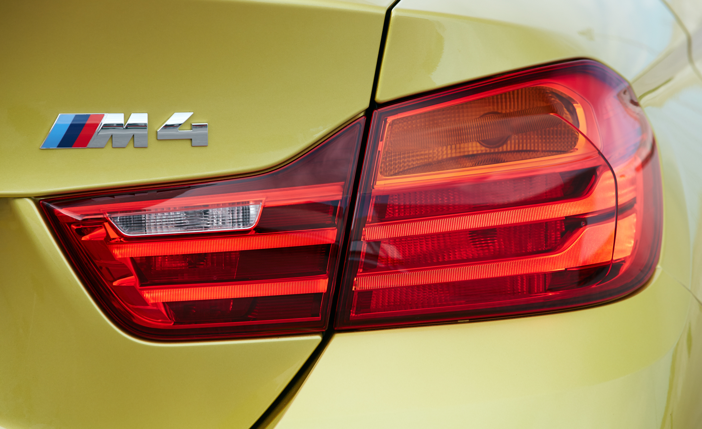 2015 BMW M4 Coupe Badge And Taillight (Photo 34 of 41)