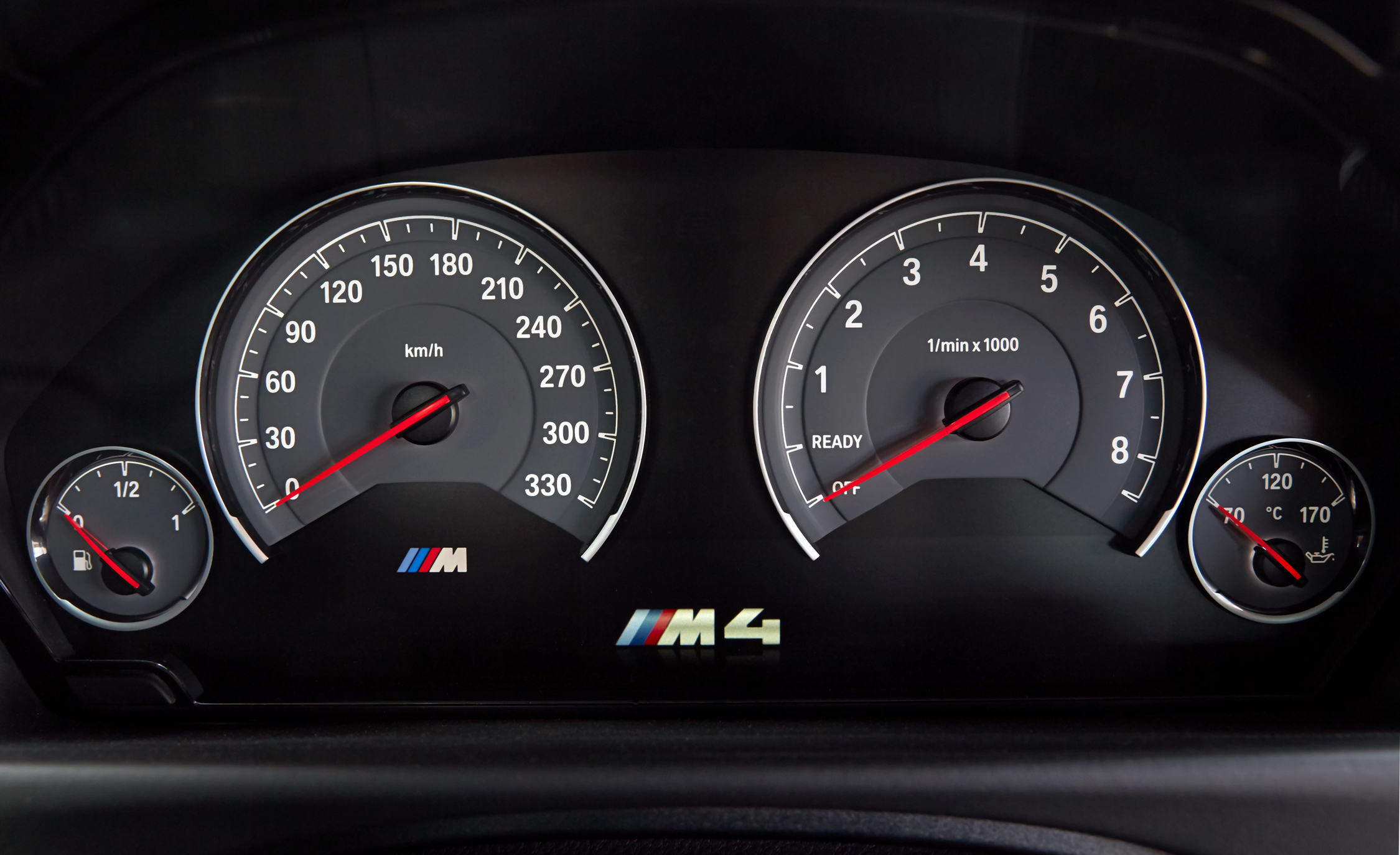 2015 BMW M4 Coupe Instrument Cluster (Photo 18 of 41)