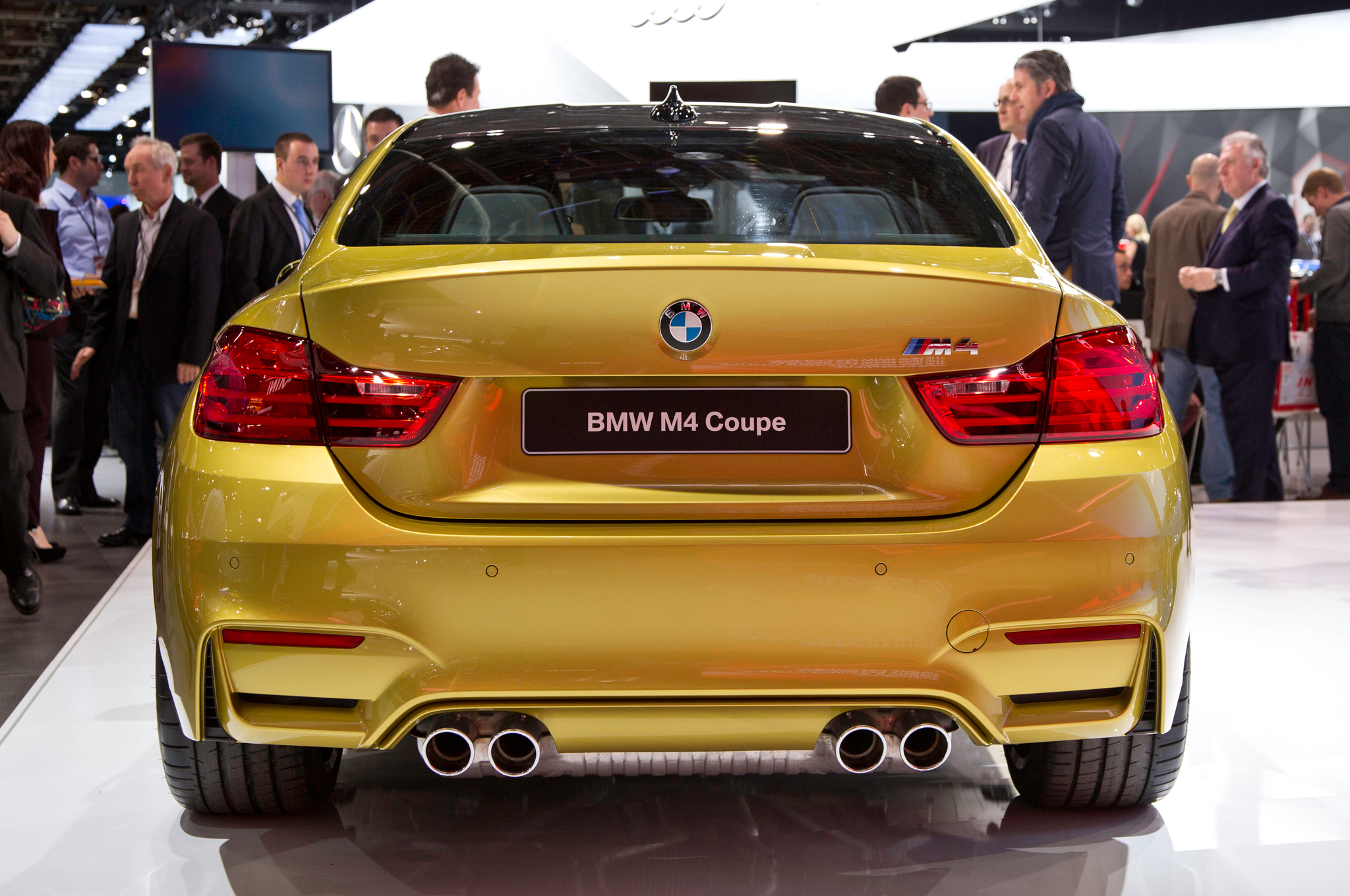 2015 Bmw M4 Rear Exterior (Photo 35 of 41)