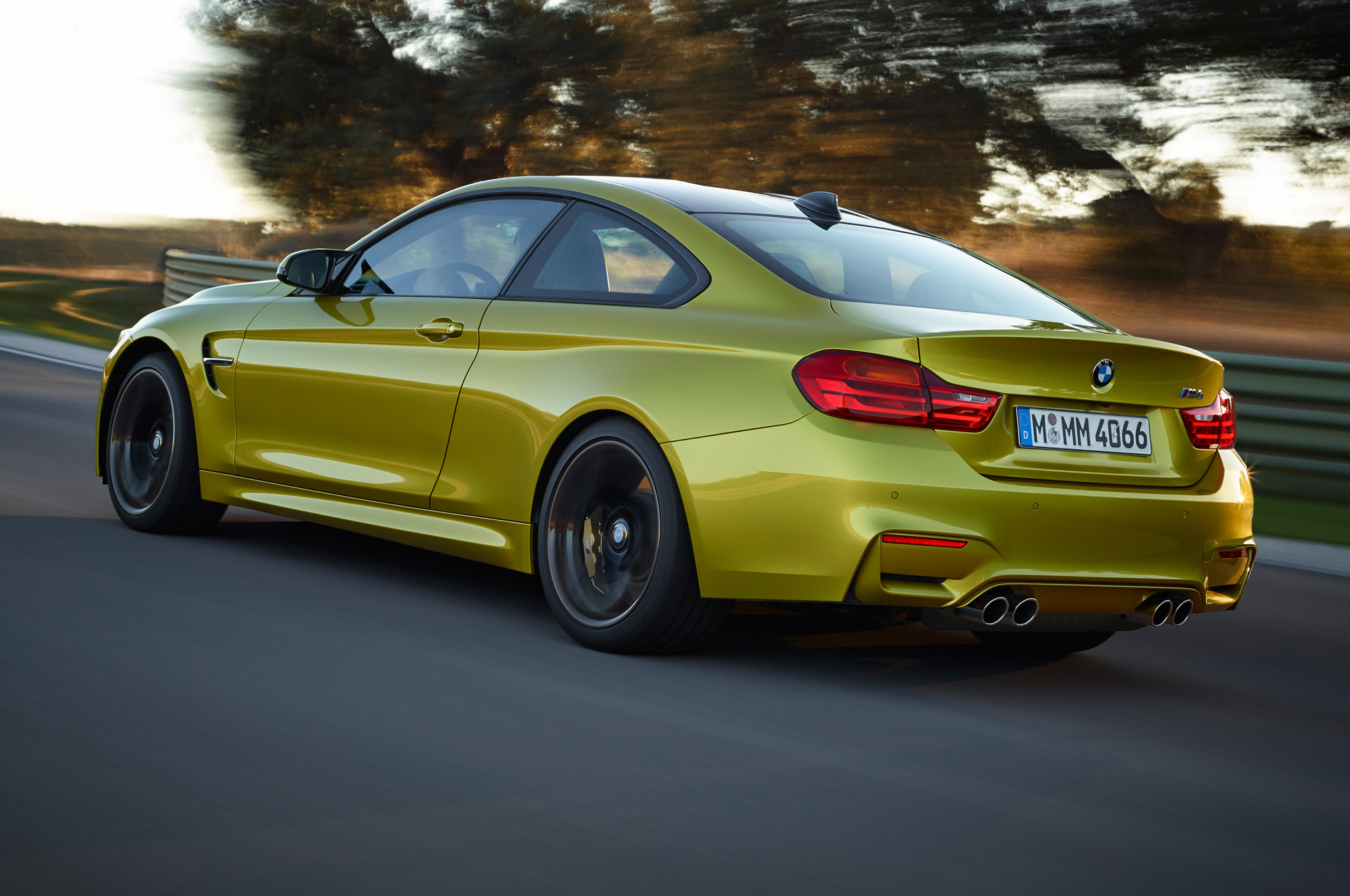 2015 Bmw M4 Side Rear Exterior (Photo 1 of 41)