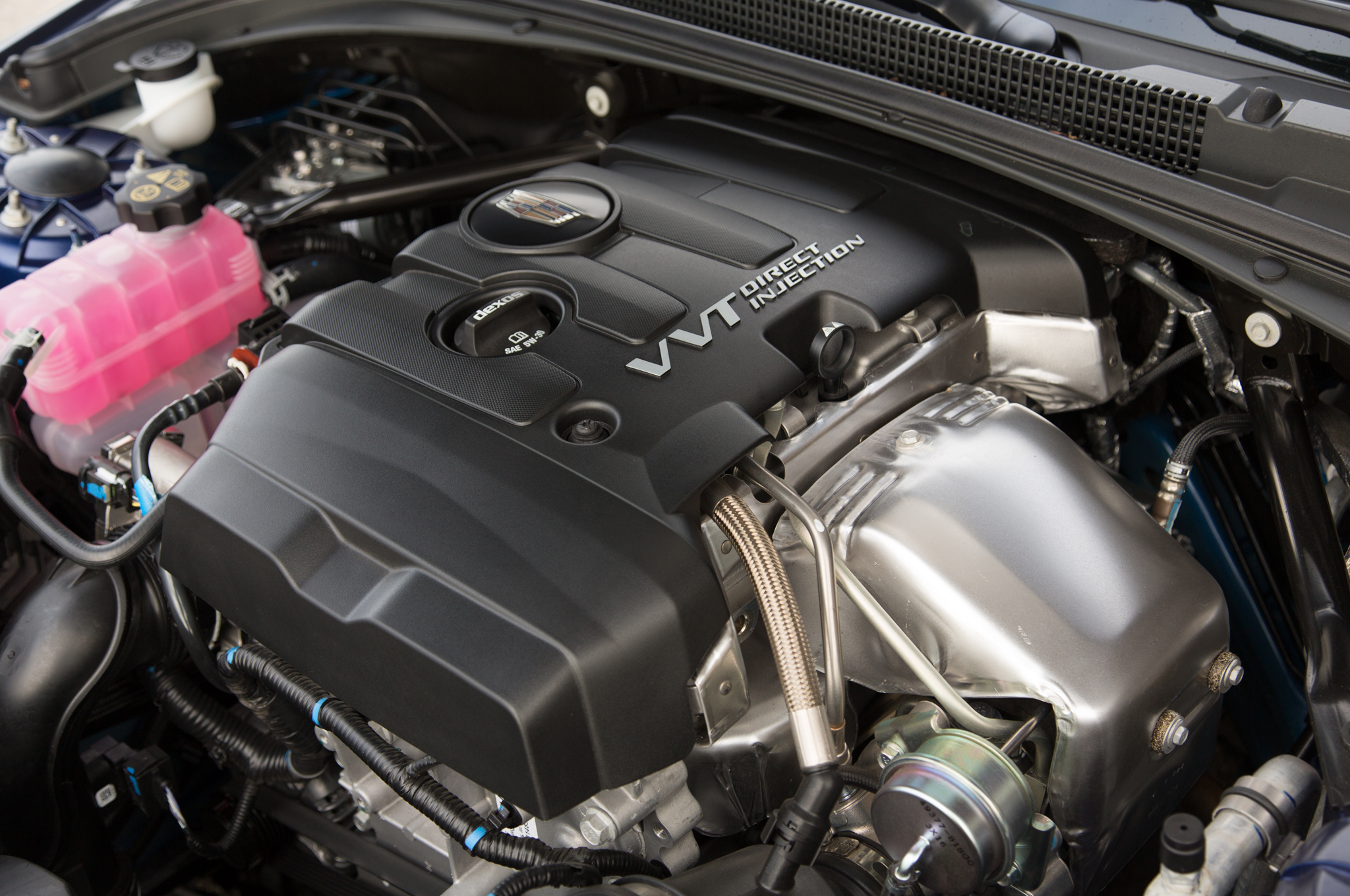 2015 Cadillac Ats Coupe Engine View (Photo 13 of 21)