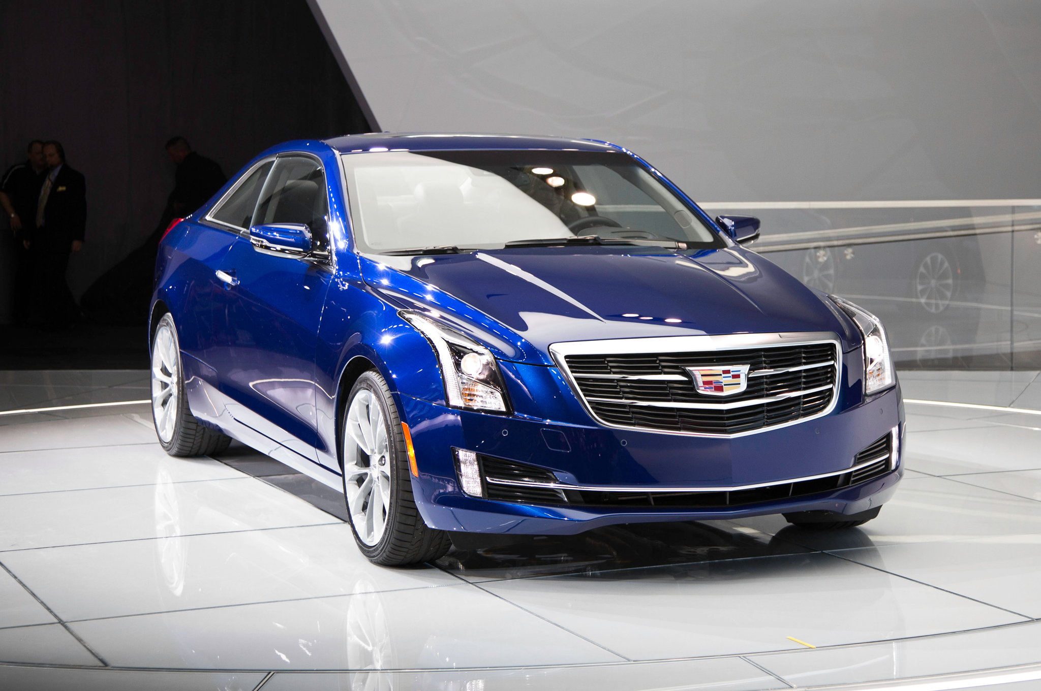 2015 Cadillac Ats Coupe Front Close Up (Photo 14 of 21)