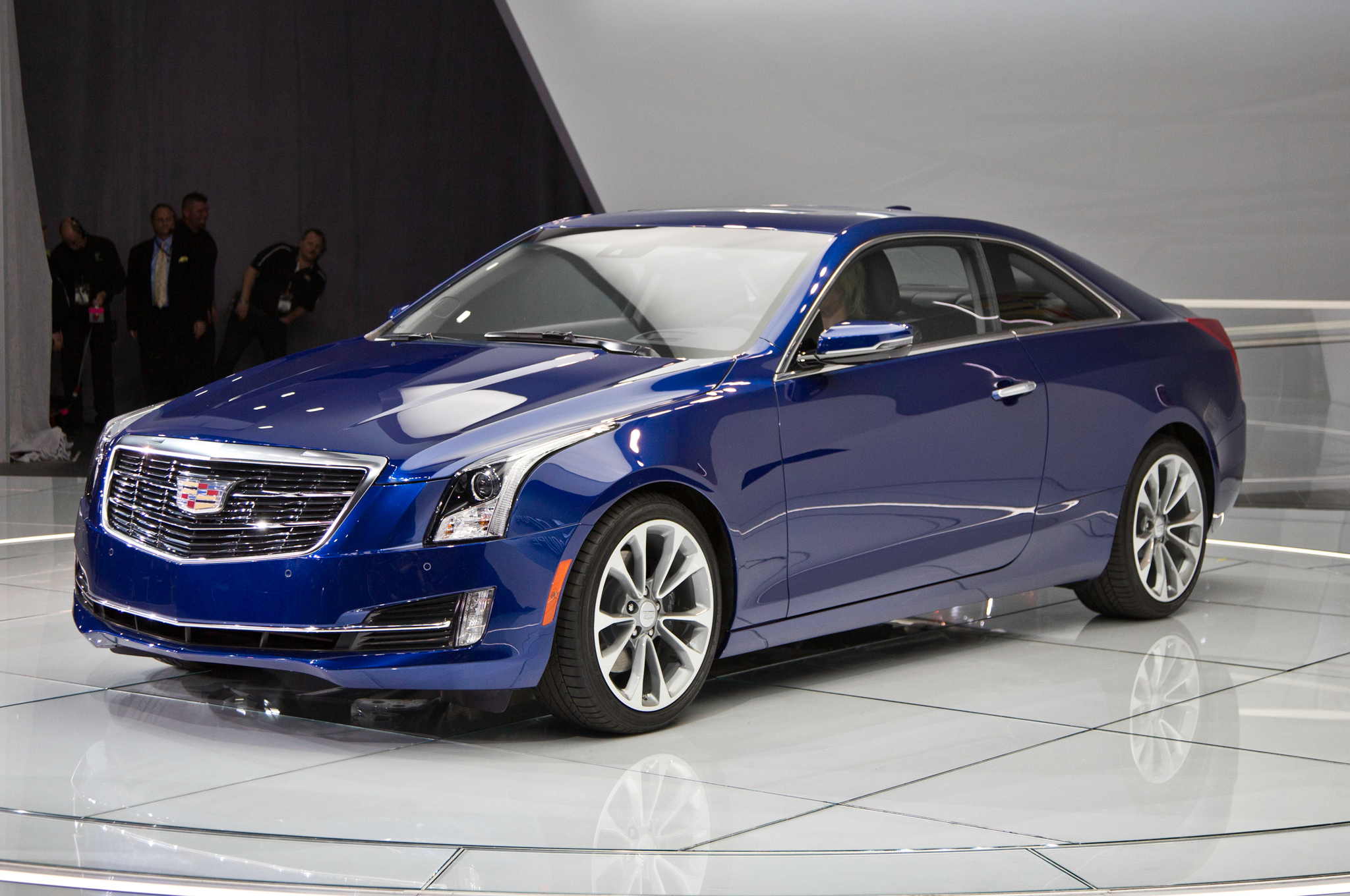 2015 Cadillac Ats Coupe Front View (View 18 of 21)