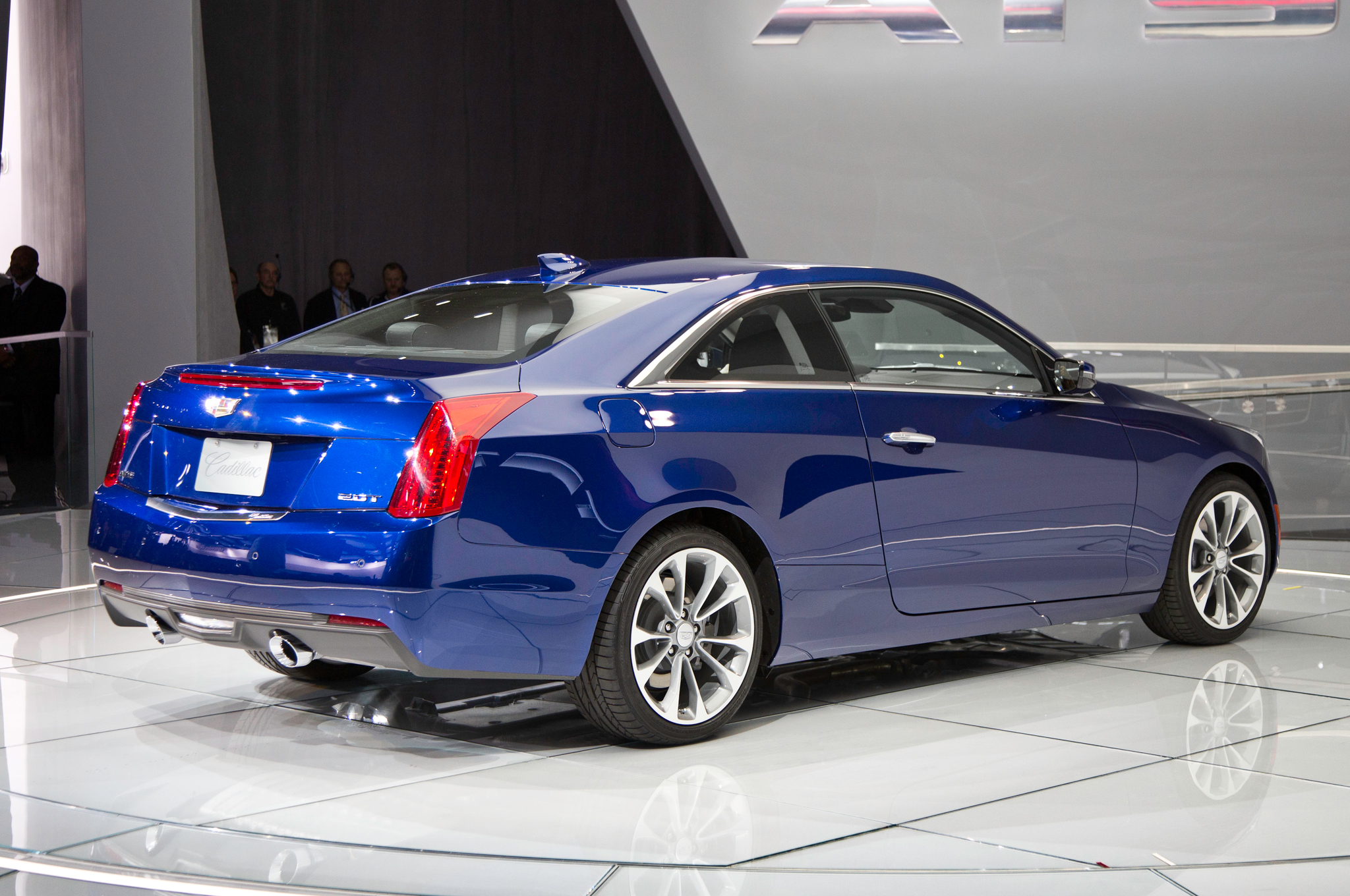 2015 Cadillac Ats Coupe Rear Design (View 2 of 21)