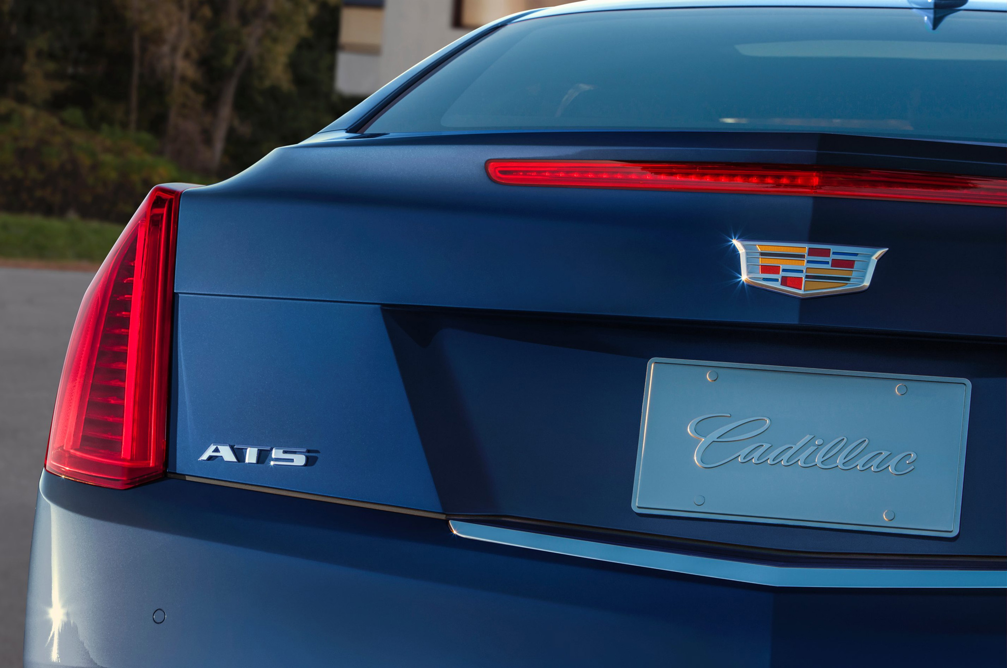2015 Cadillac Ats Coupe Rear Lamp Close Up (Photo 19 of 21)