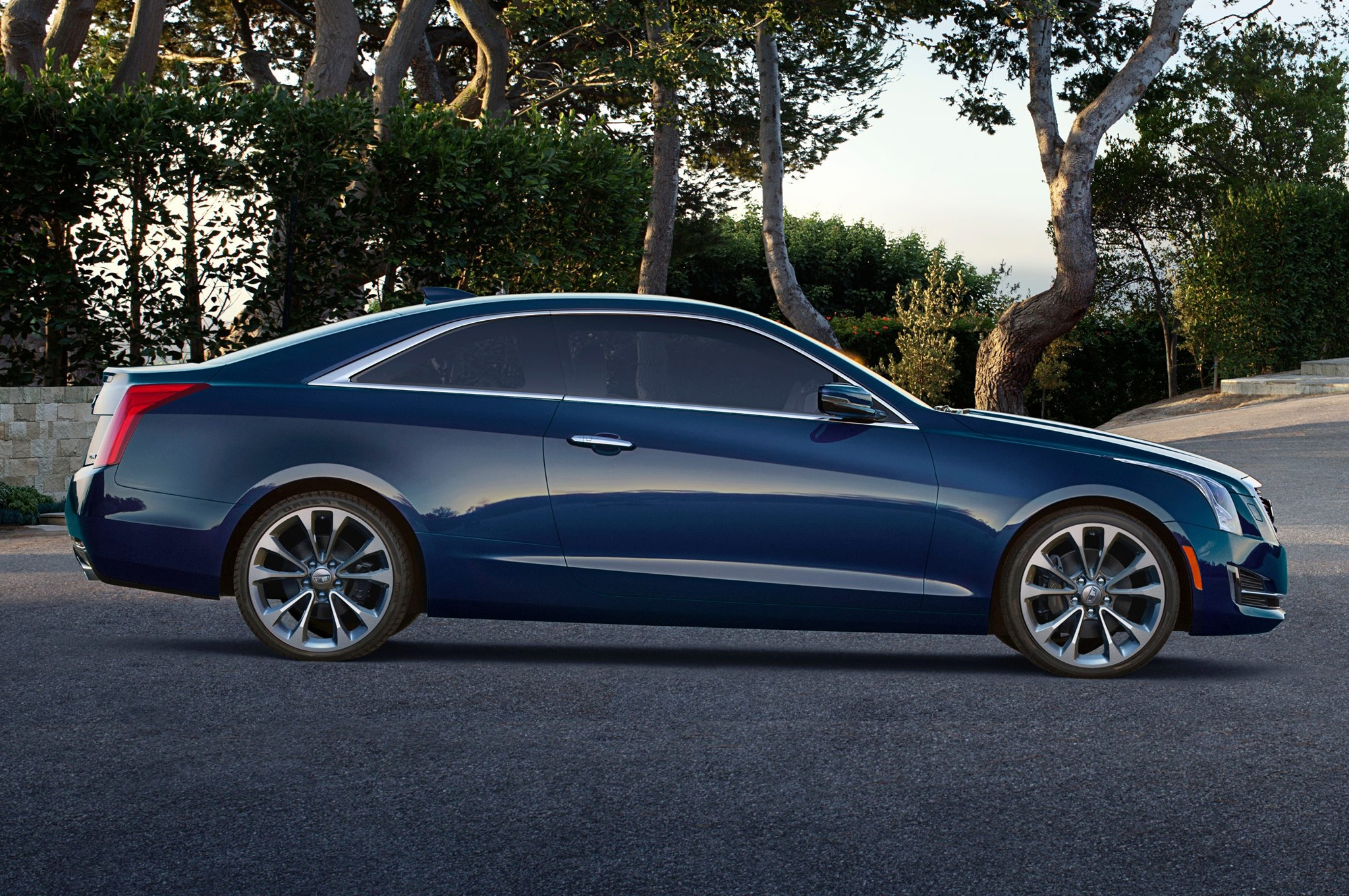 2015 Cadillac Ats Coupe Side Design (View 14 of 21)