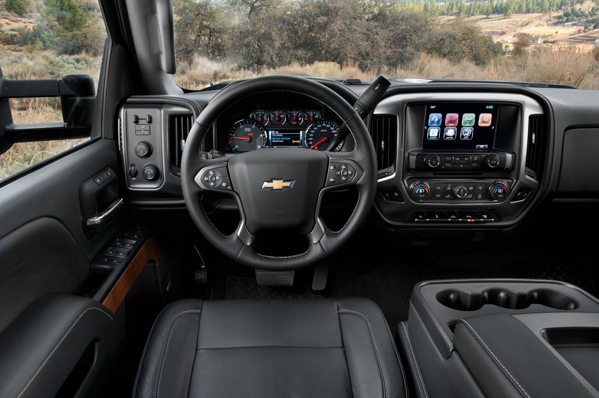 2015 Chevrolet Silverado Hd Dashboard (Photo 4 of 6)