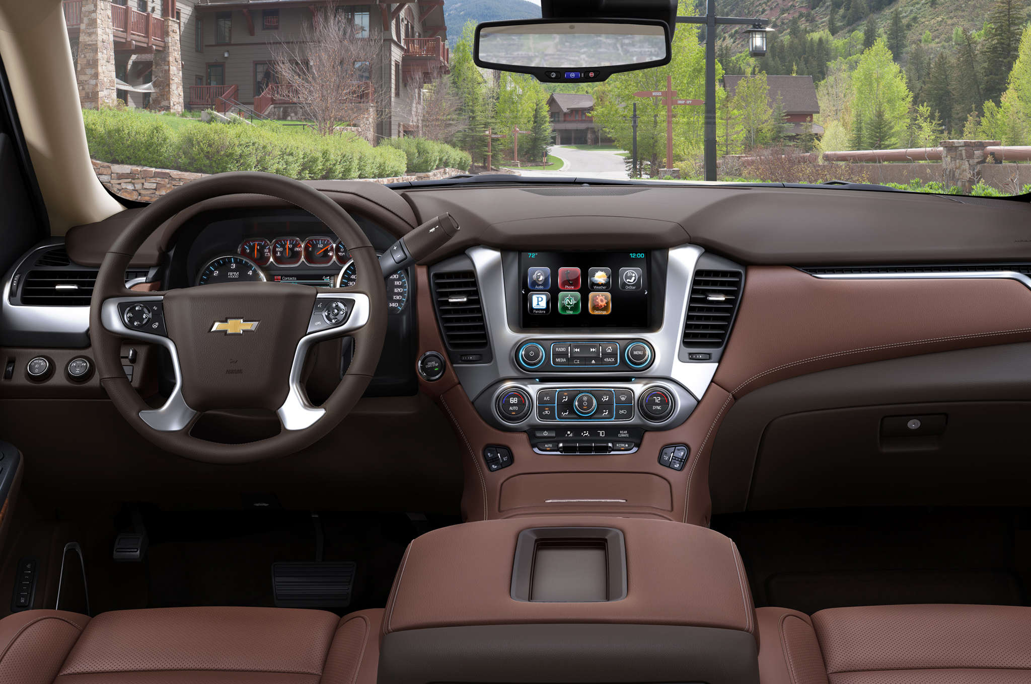 2015 Chevrolet Suburban Cockpit And Dashboard (Photo 28 of 33)