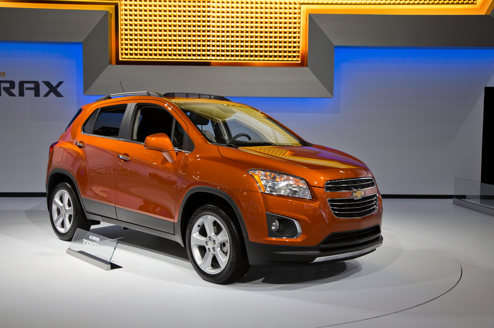 2015 Chevrolet Trax Exterior Design (Photo 3 of 8)