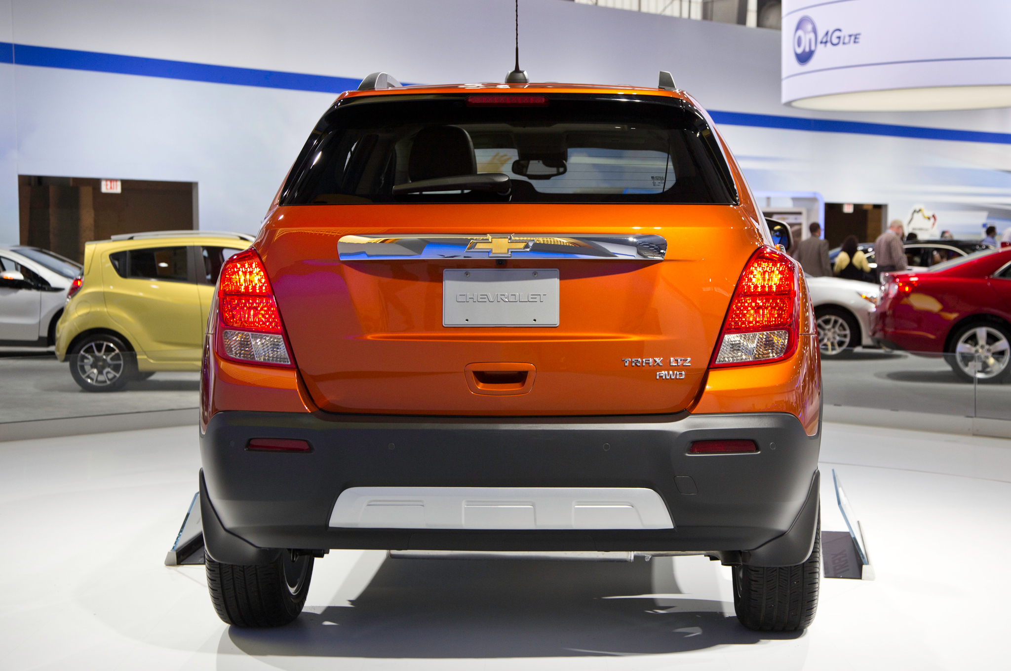 2015 Chevrolet Trax Rear Design (Photo 6 of 8)
