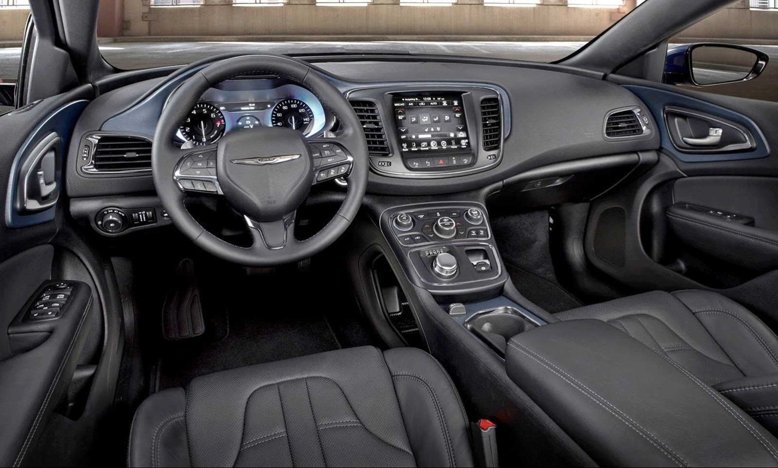 2015 Chrysler 200 Cockpit Interio (Photo 4 of 11)