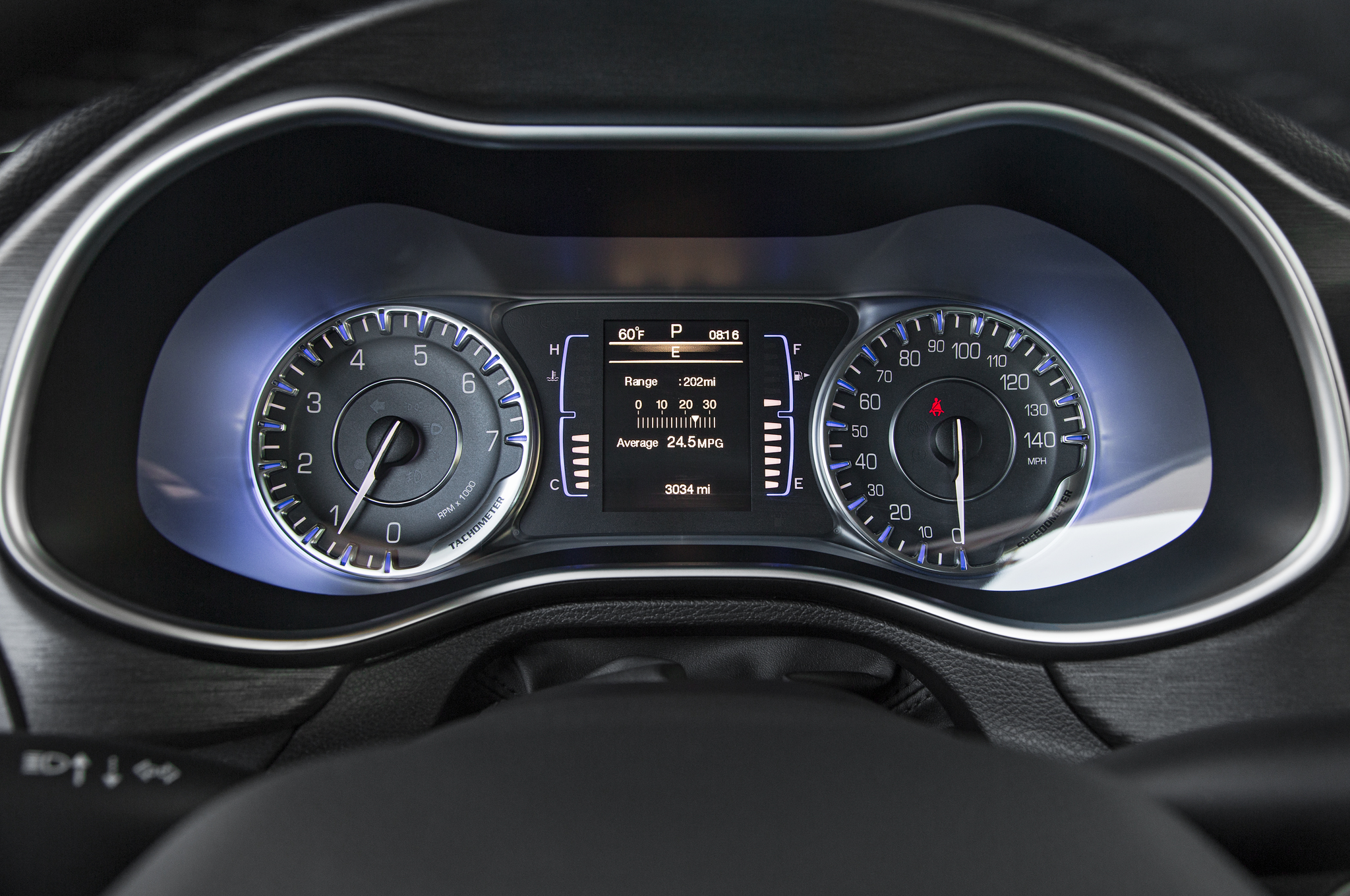 2015 Chrysler 200 Spedometer (View 2 of 11)