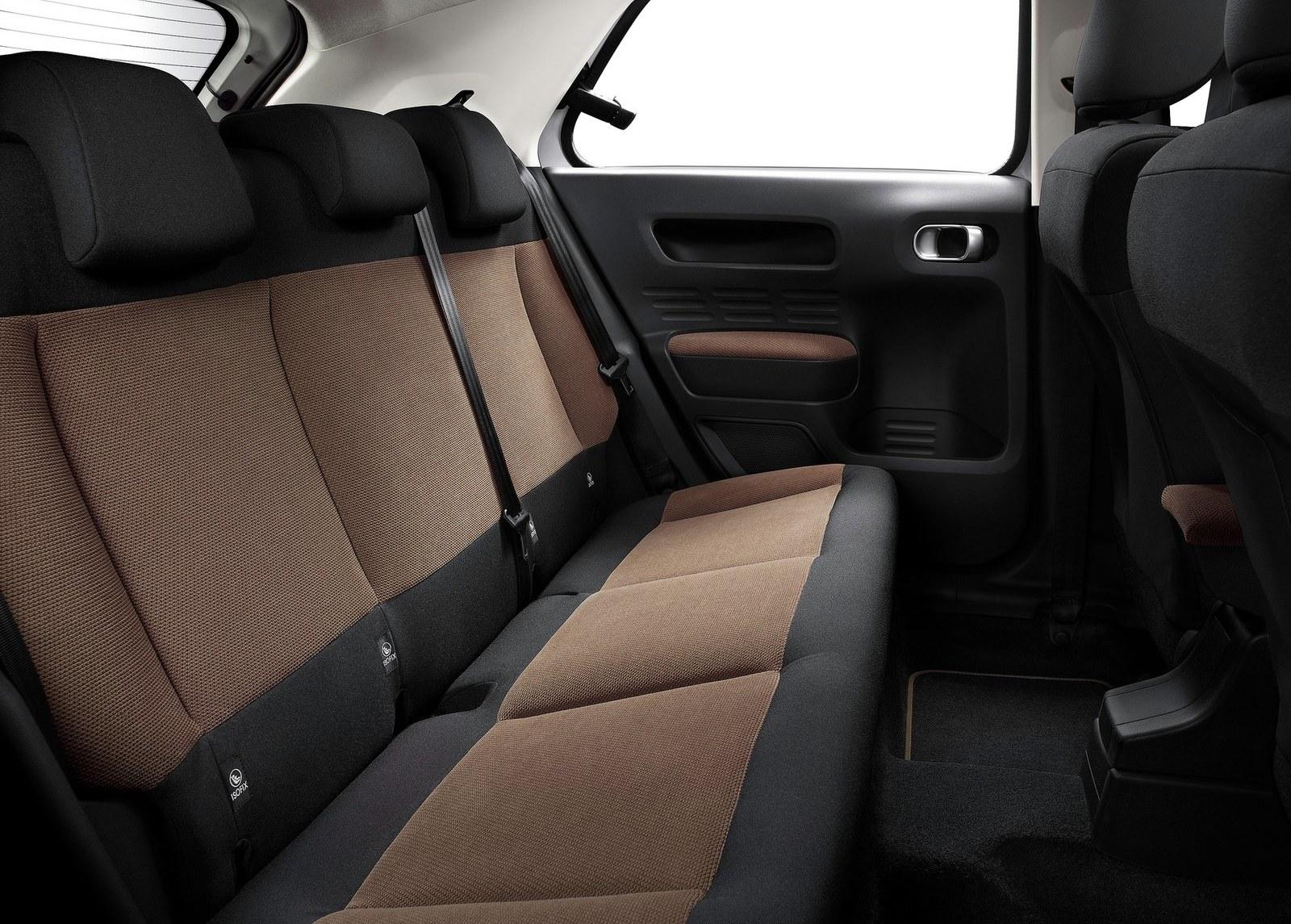 2015 Citroen C4 Cactus Rear Seats Interior (Photo 11 of 21)
