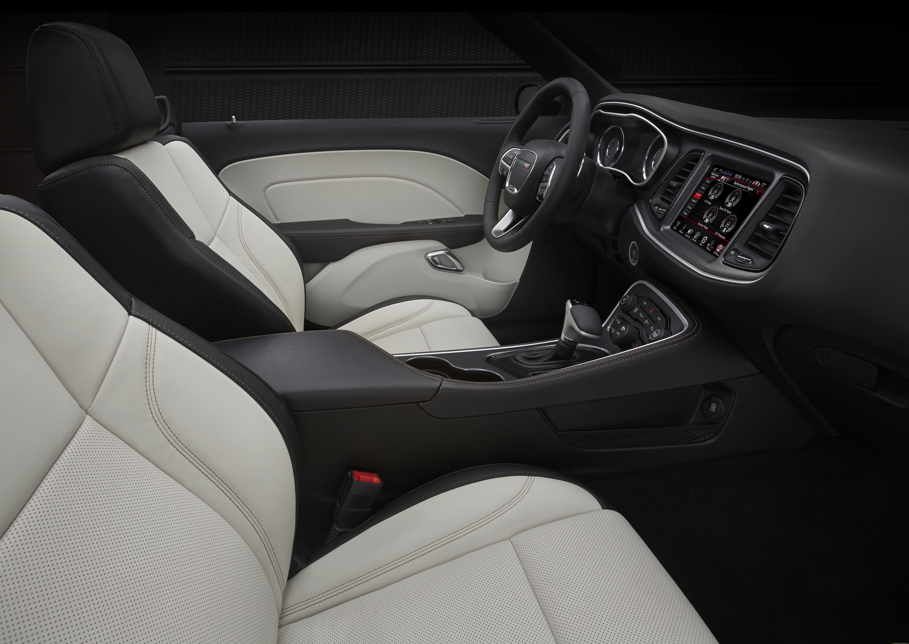 2015 Dodge Challenger SXT / R/T Plus Black And Pearl Leather (Photo 2 of 39)
