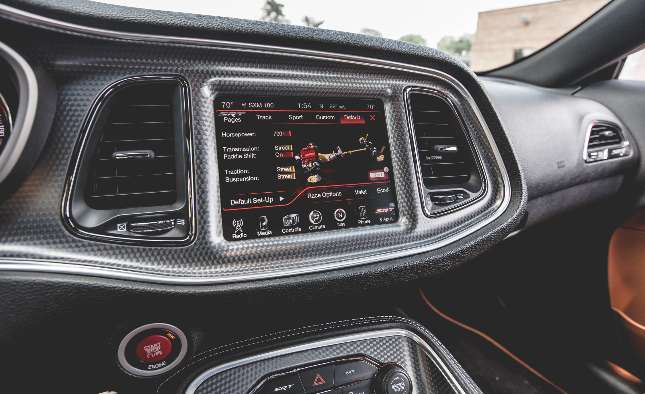 2015 Dodge Challenger SRT Hellcat Interior (Photo 19 of 22)