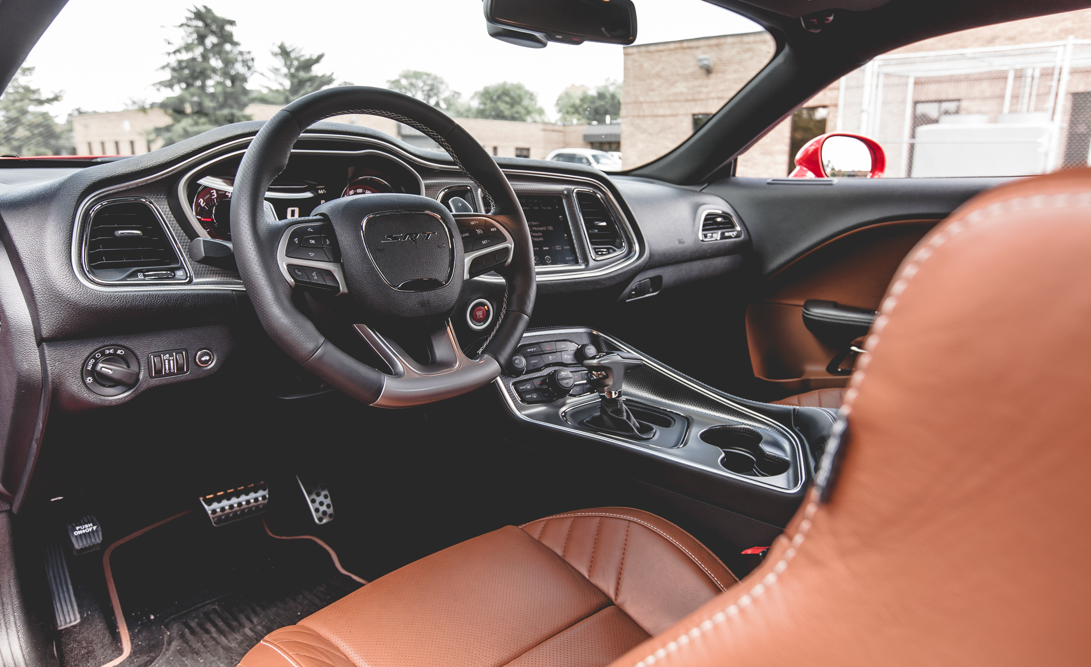 2015 Dodge Challenger SRT Hellcat Interior (Photo 20 of 22)