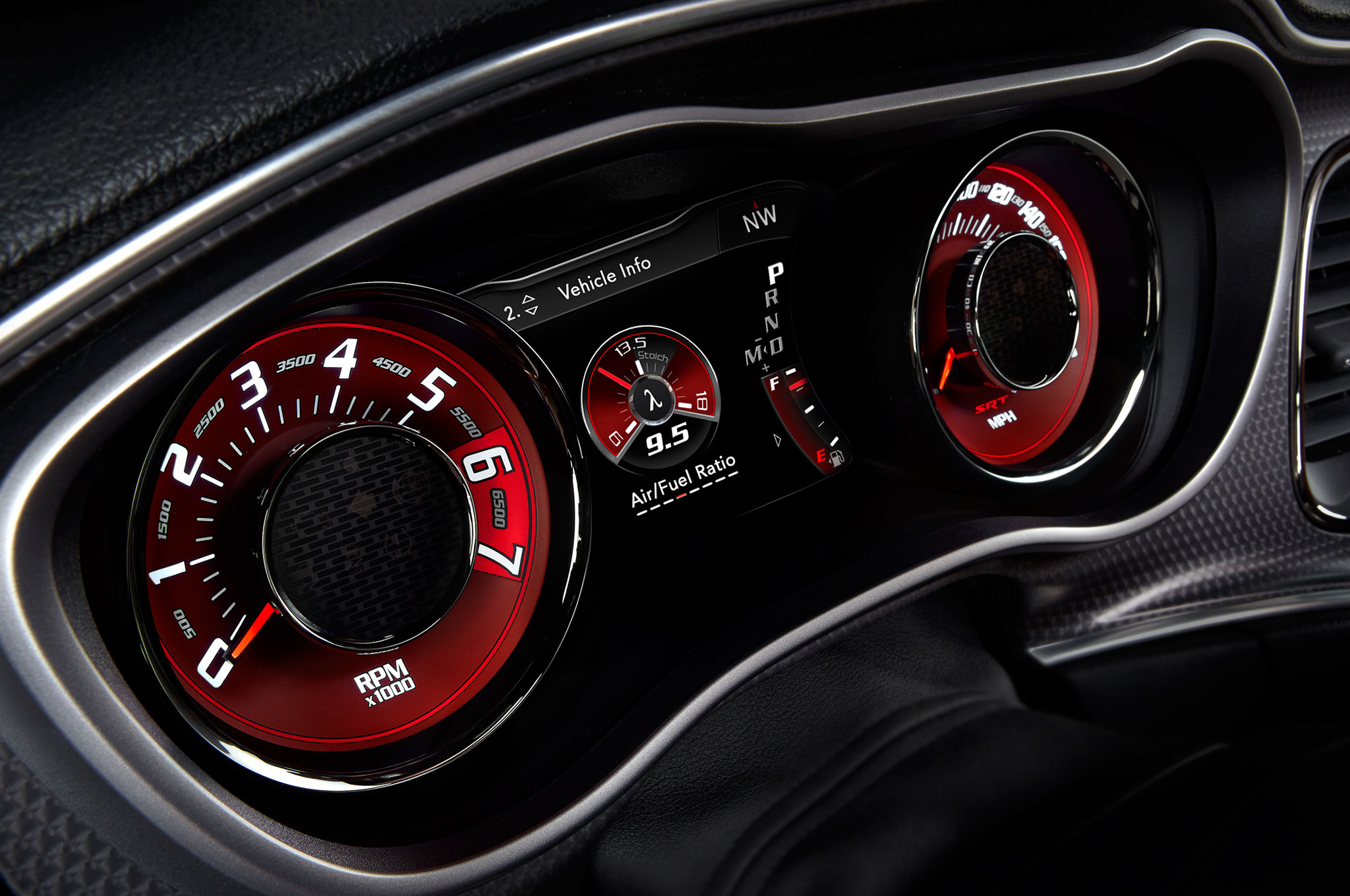 2015 Dodge Challenger Speedometer (Photo 36 of 39)