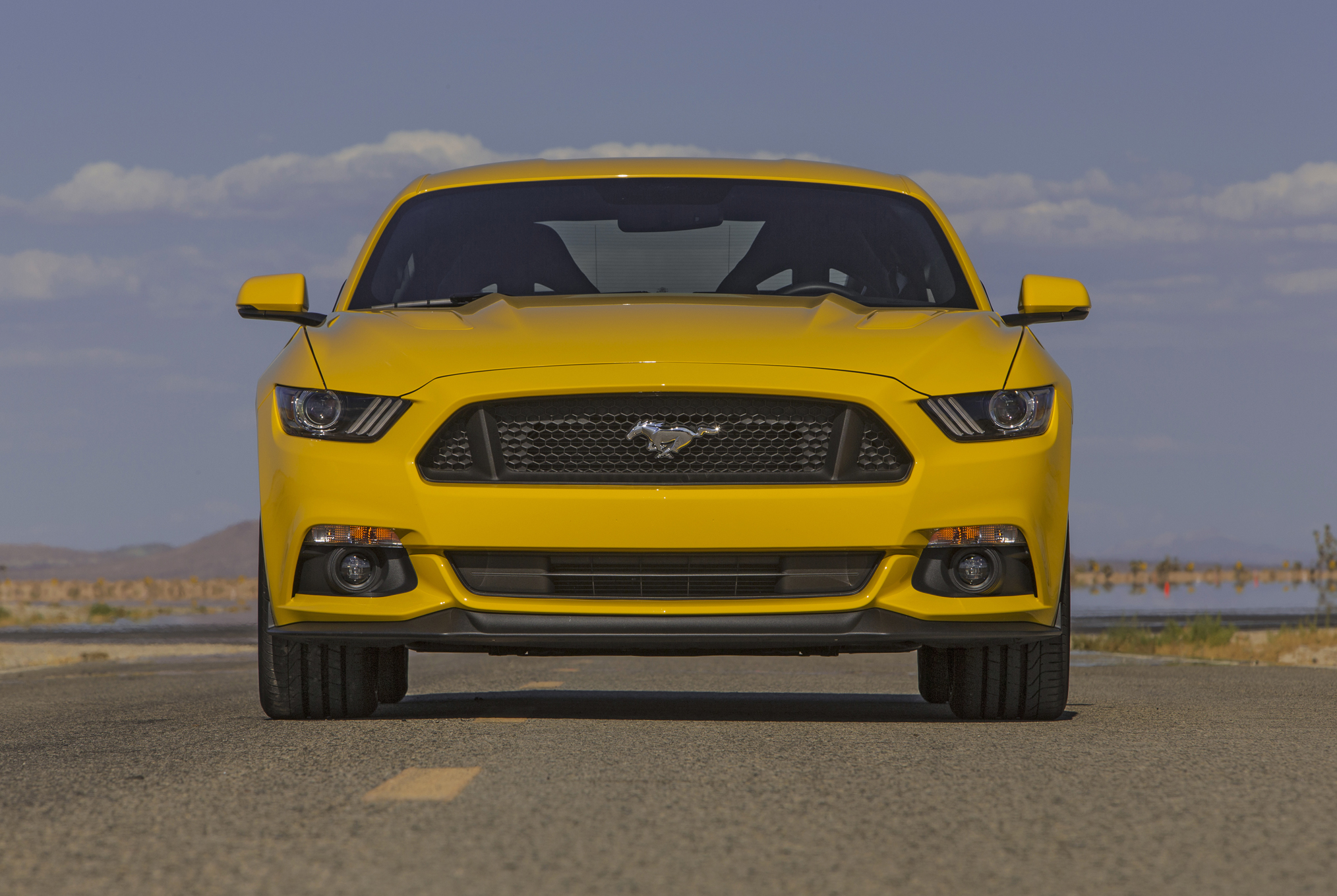 2015 Ford Mustang Gt Front Exterior Design (Photo 10 of 30)