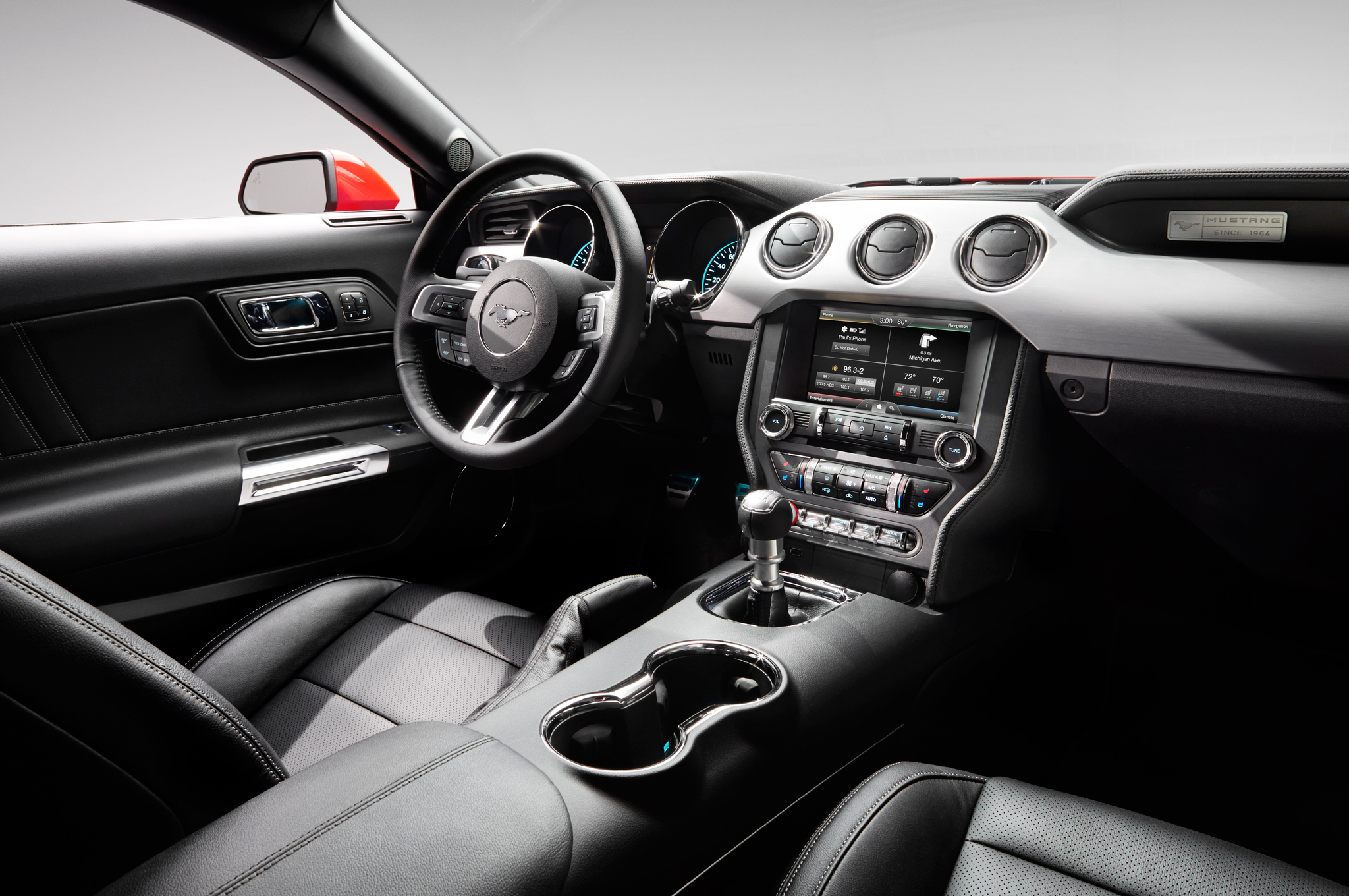 2015 Ford Mustang Gt Front Interior (Photo 11 of 30)