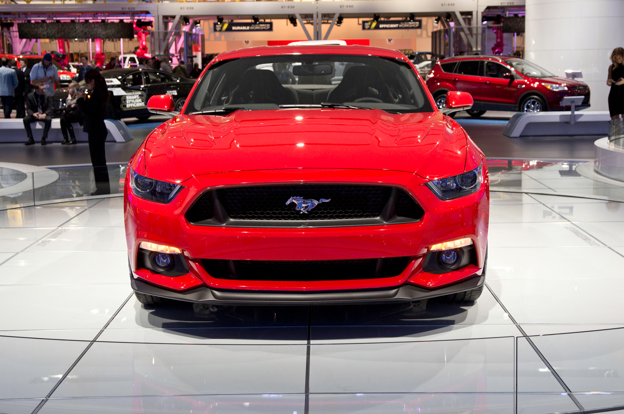 2015 Ford Mustang Gt Front Photo (Photo 12 of 30)