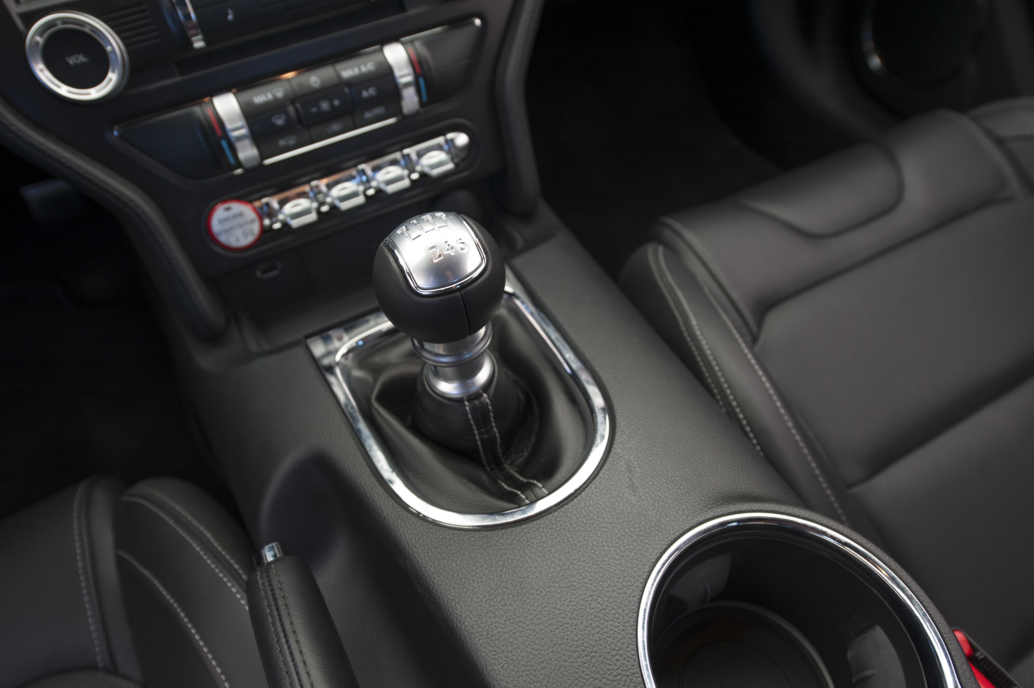 2015 Ford Mustang Gt Gear Shift Knob (Photo 14 of 30)