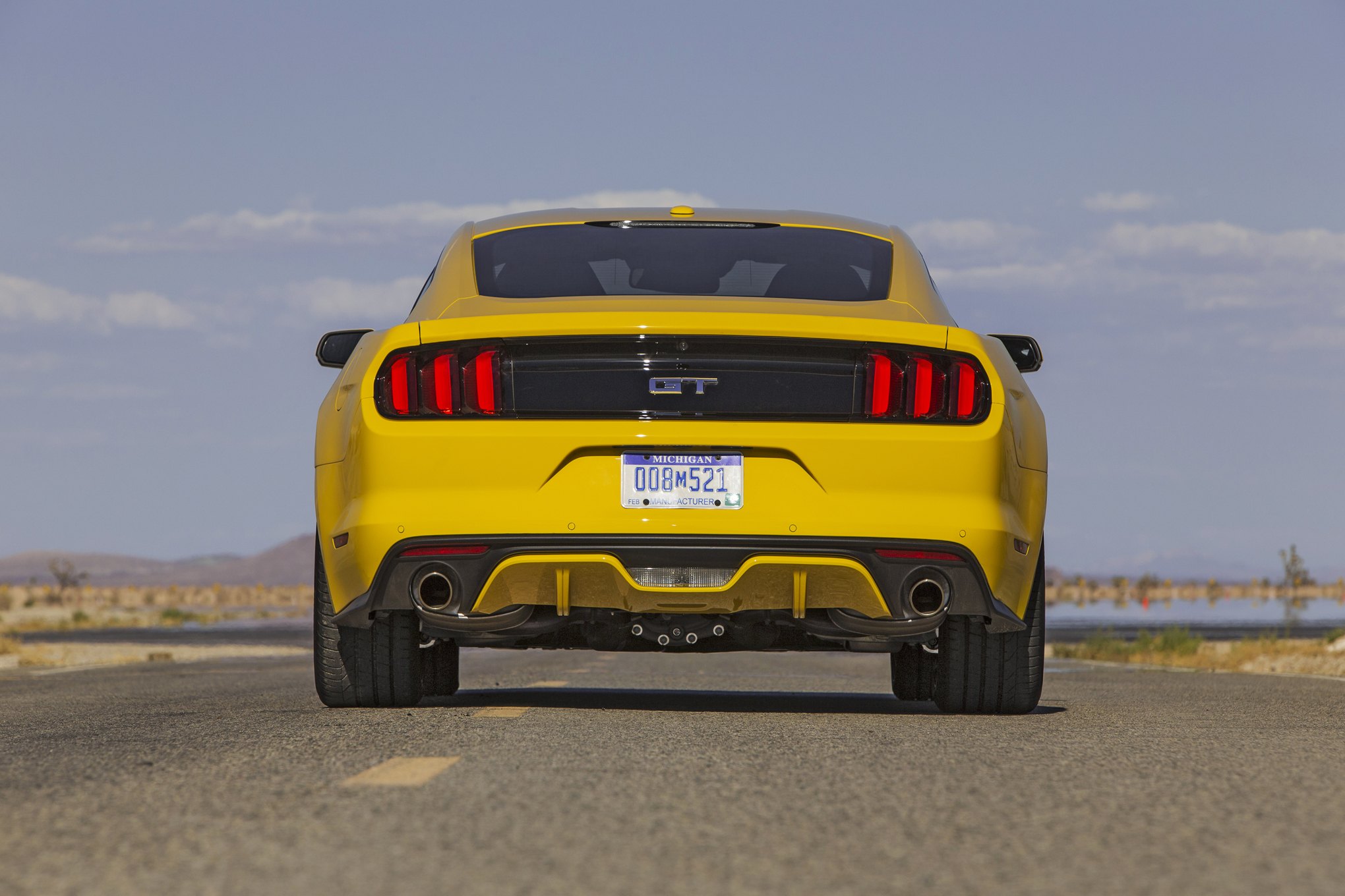 2015 Ford Mustang Gt Rear Exterior Preview (Photo 16 of 30)