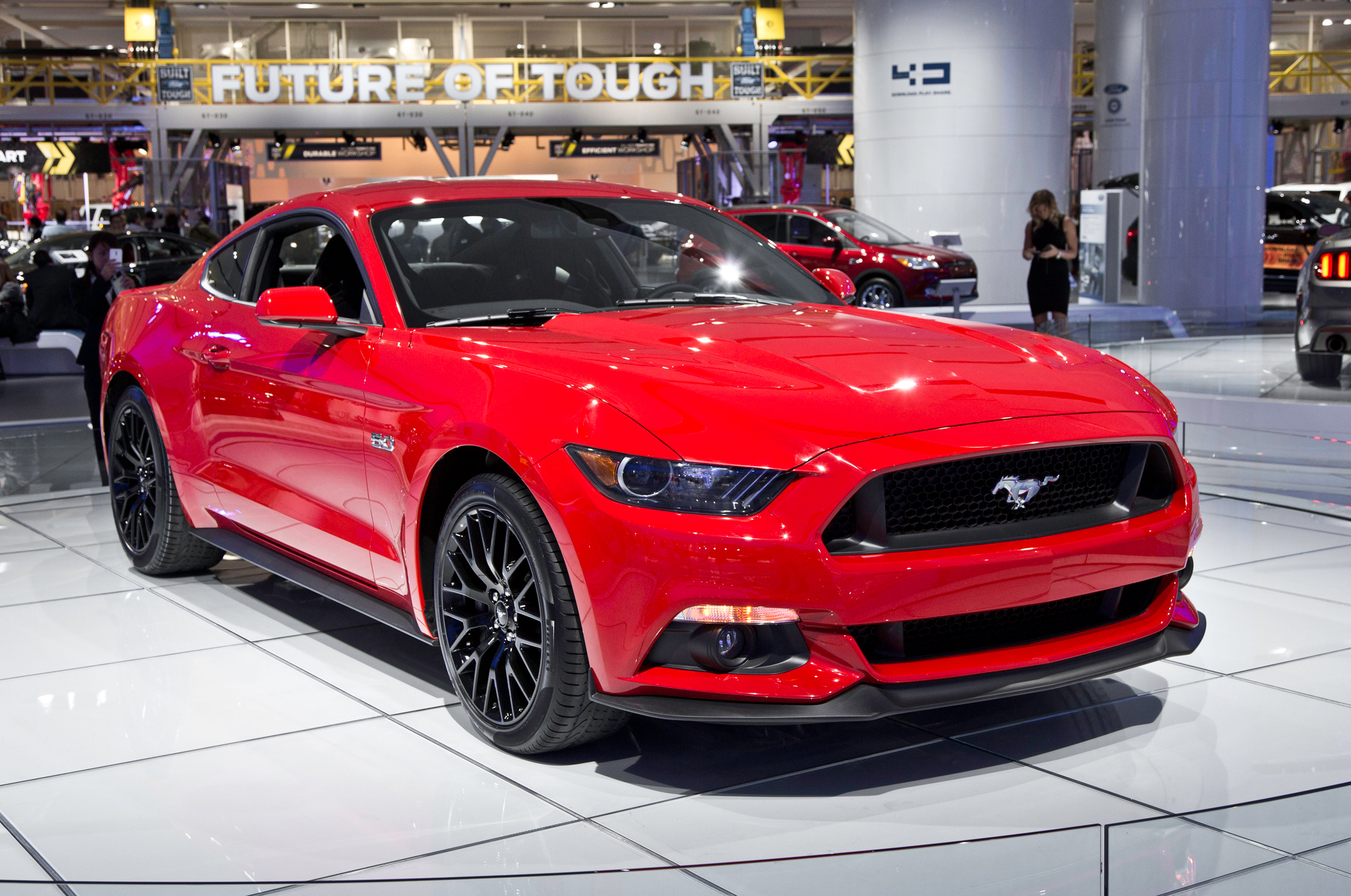 2015 Ford Mustang Gt Red (Photo 19 of 30)
