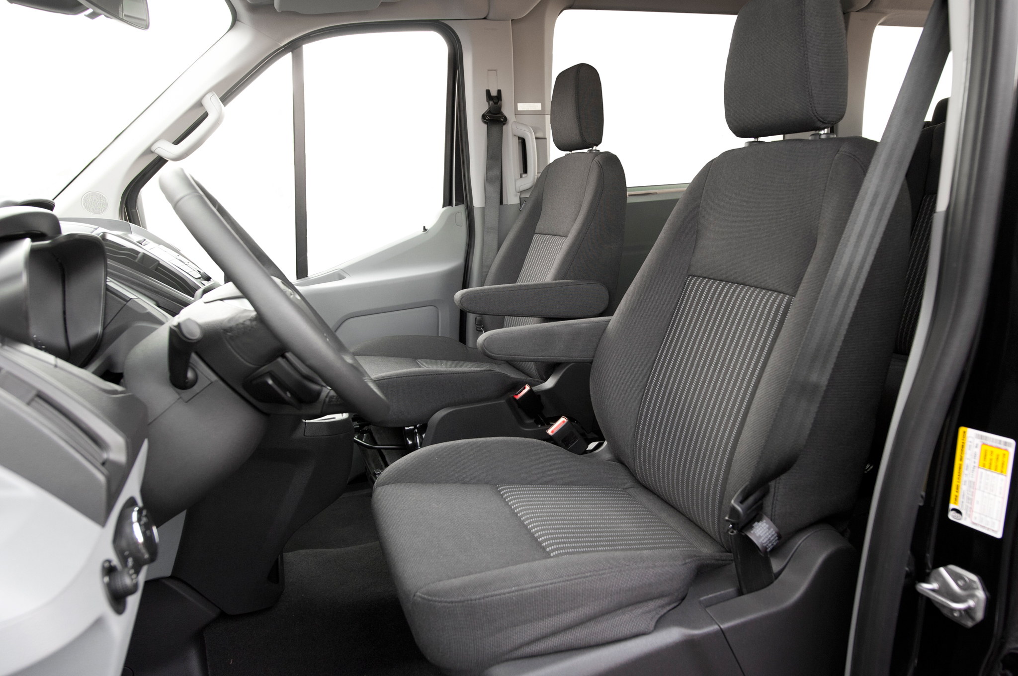 2015 Ford Transit 150 Front Seat Interior (Photo 7 of 13)