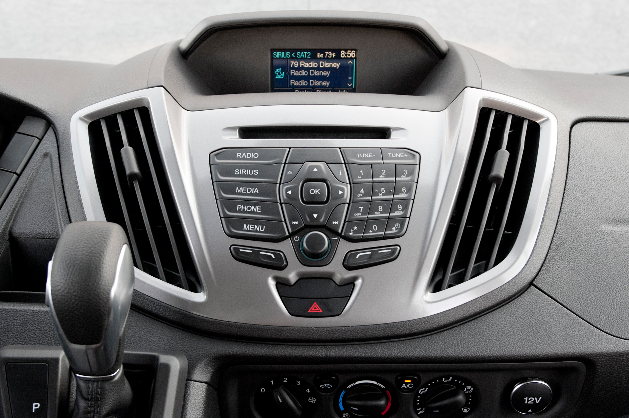 2015 Ford Transit 150 Head Unit Profile (View 3 of 13)