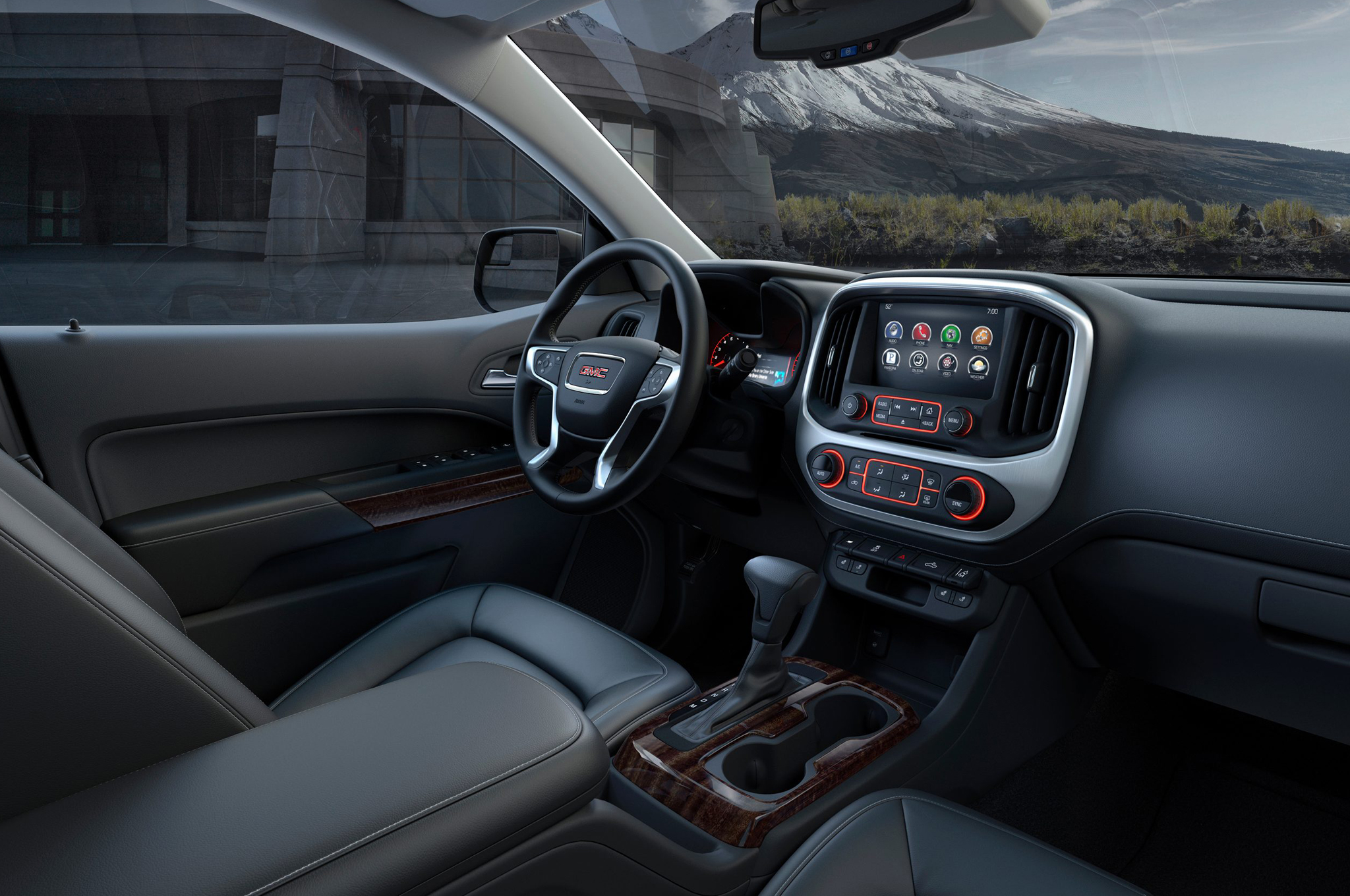 2015 Gmc Canyon Front Seat Interior (Photo 5 of 6)