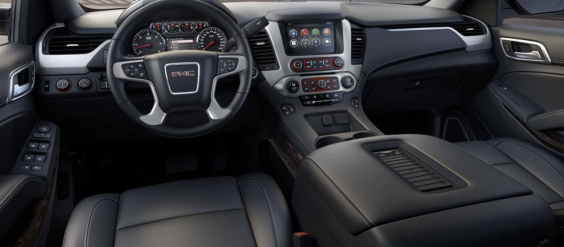 2015 Gmc Yukon Xl Driver Seat And Dashboard (Photo 3 of 10)