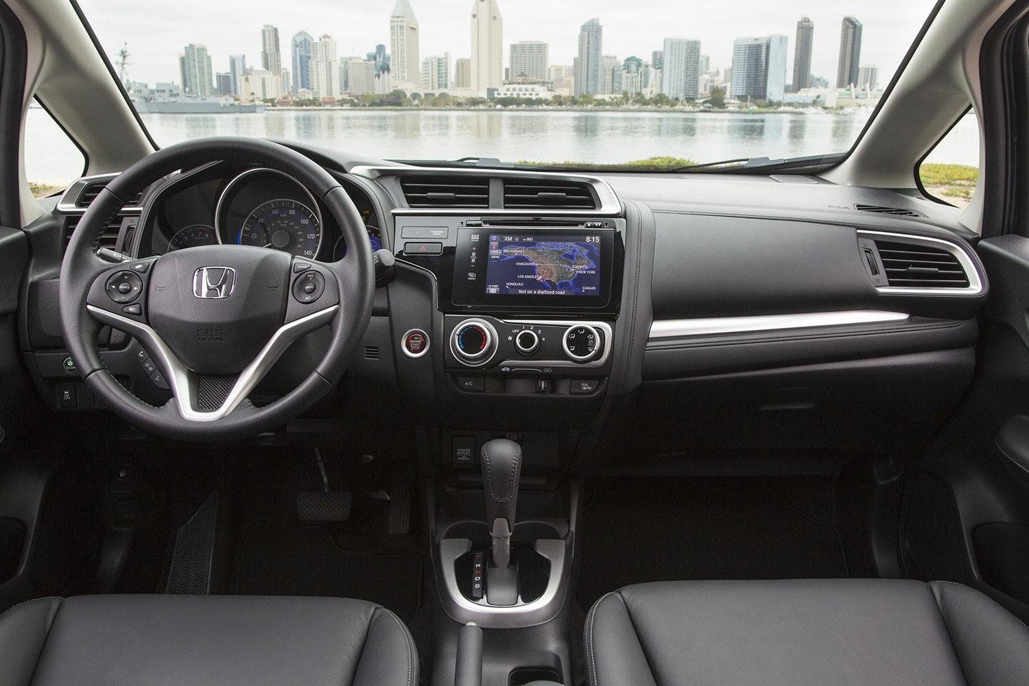 2015 Honda Fit Cockpit And Dashboard Interior (View 13 of 16)